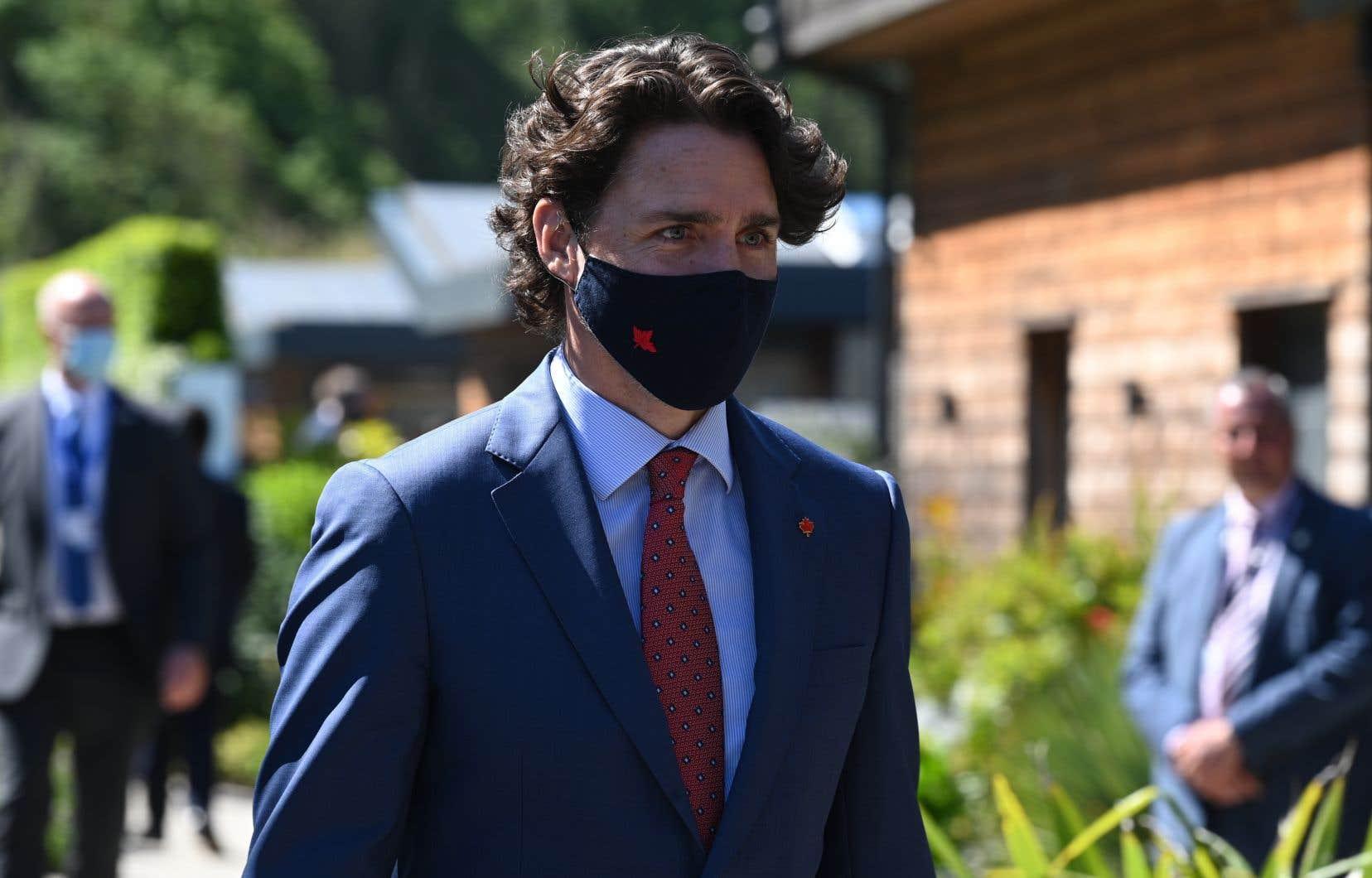 M.Trudeau rencontrera plus tard dans la journée son homologue italien Mario Draghi et la chancelière allemande Angela Merkel.