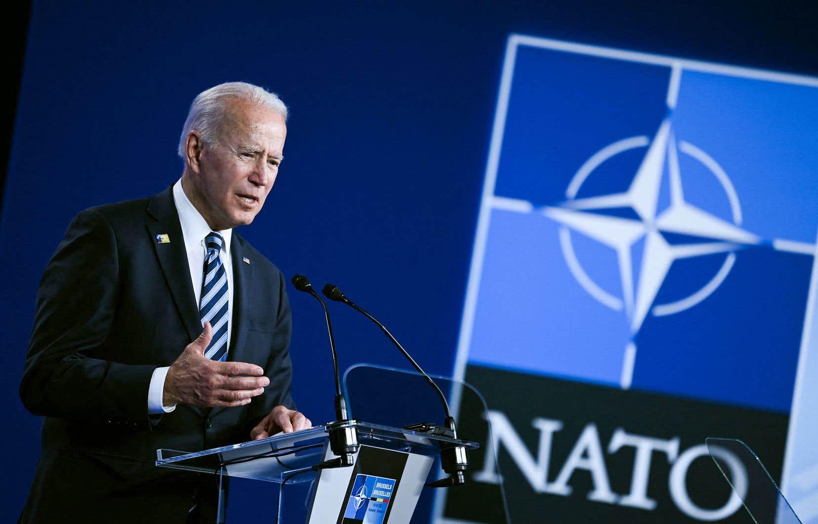 Joe Biden doit rencontrer le président russe, Vladimir Poutine, mercredi à Genève, dernière étape d'un périple en Europe commencé par un sommet du G7 au Royaume-Uni, suivi par le sommet de l'OTAN, lundi, et une réunion avec les présidents des institutions de l'UE mardi à Bruxelles.