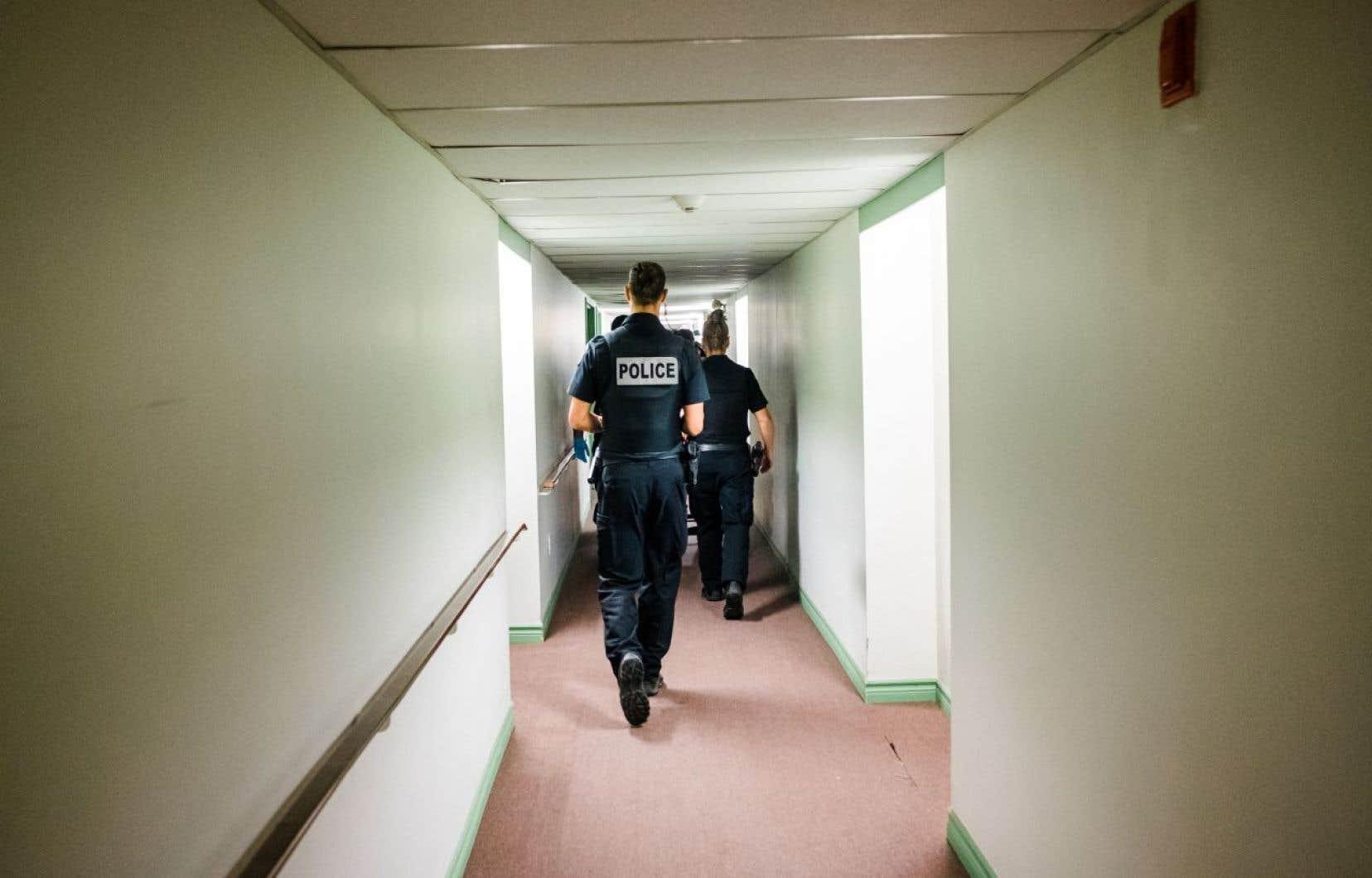 Longueuil amorce un virage vers une police d'intervention plus sociale