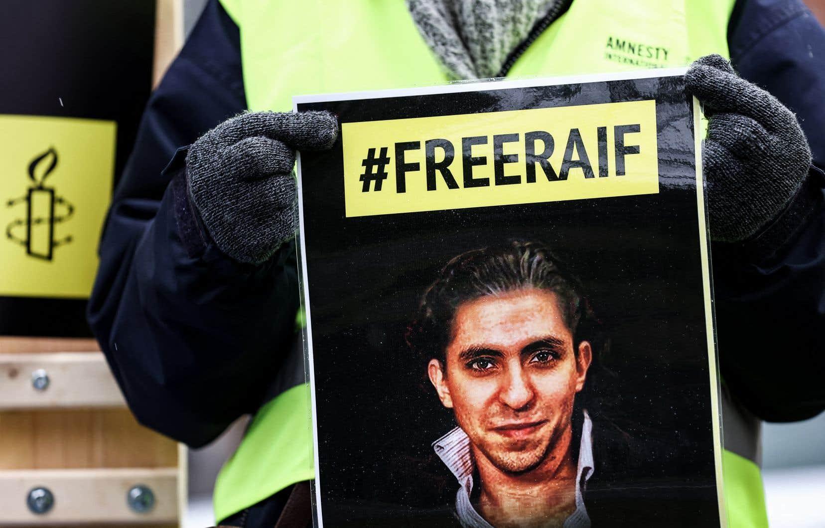 «Le 17juin 2021, Raïf Badawi aura passé 9ans en prison», écrit l'auteur.