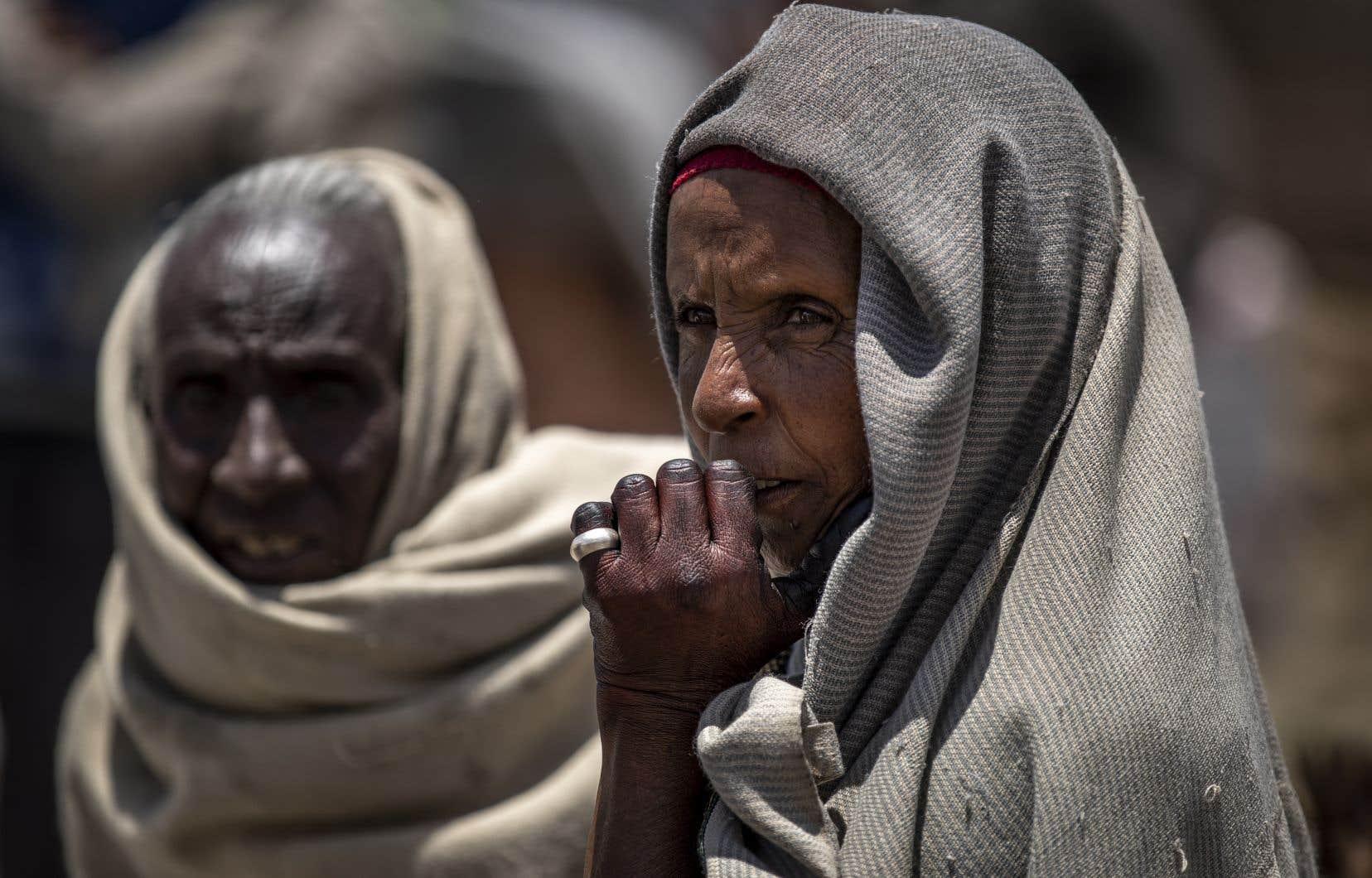 L'ONU et des ONG estiment à plus de 350000 le nombre de personnes au Tigré en situation de famine.