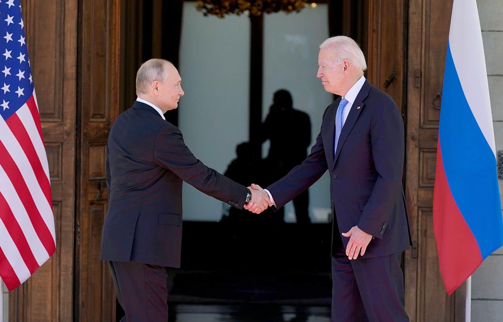 Depuis l'arrivée de Joe Biden à la Maison-Blanche, les relations se sont tendues entre les États-Unis et la Russie. Dans ce contexte, la rencontre entre les deux chefs d'État mercredi en Suisse était attendue.