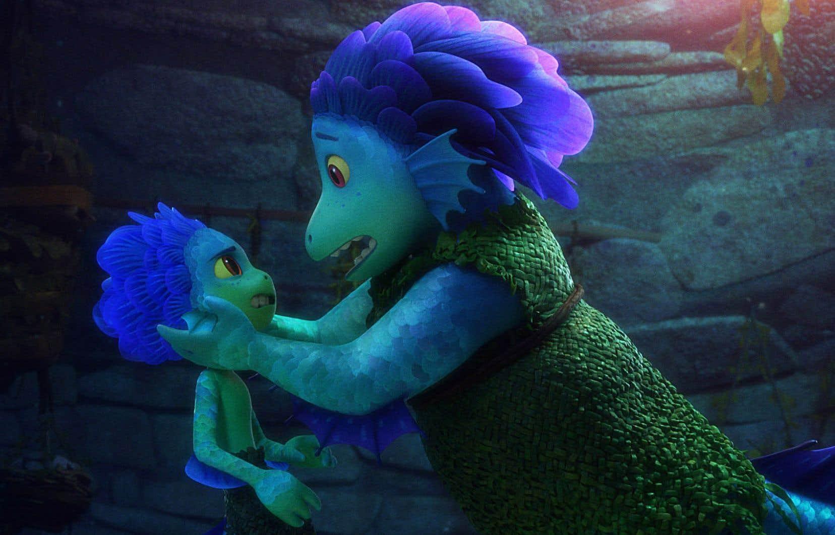 Une scène de «Luca», un film d'animation tendre et lumineux