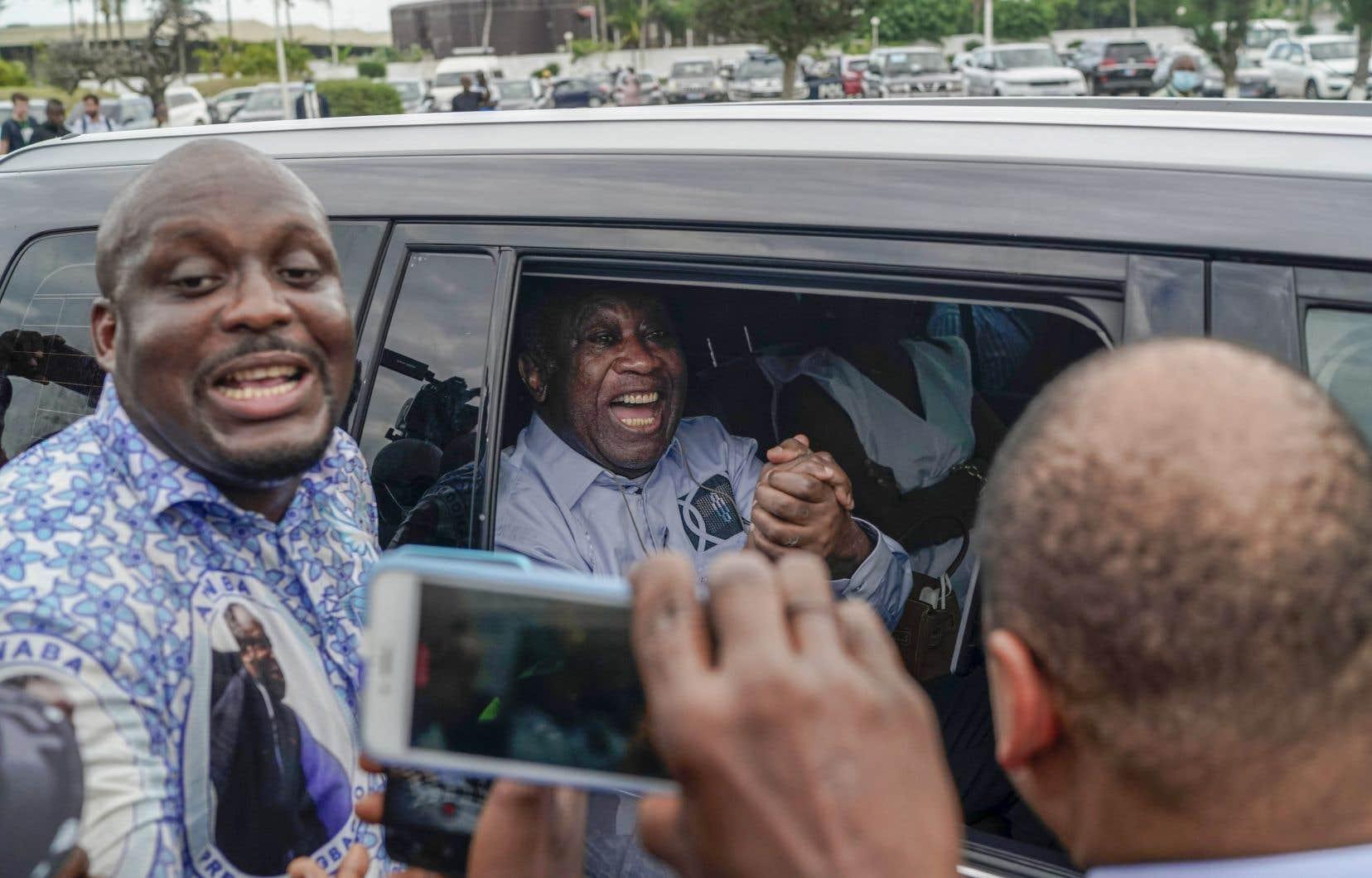 Laurent Gbagbo, 76ans, vivait à Bruxelles depuis son acquittement par la CPI en janvier 2019, confirmé en appel le 31mars 2021.
