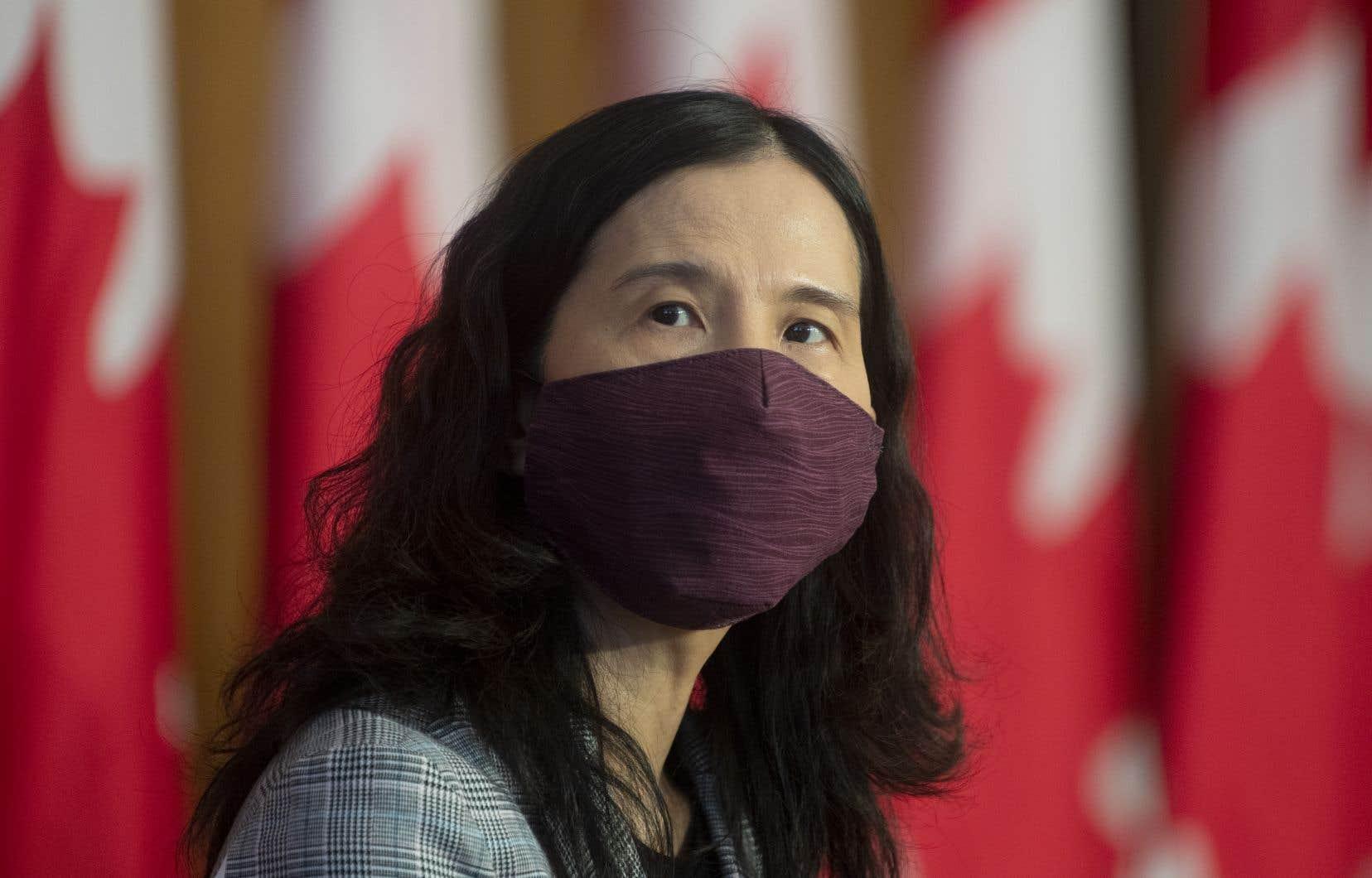 «Le variant Delta est maintenant dans toutes les provinces et au moins un de nos territoires», a déclaré l'administratrice en chef de la santé publique du Canada, la DreTheresa Tam.
