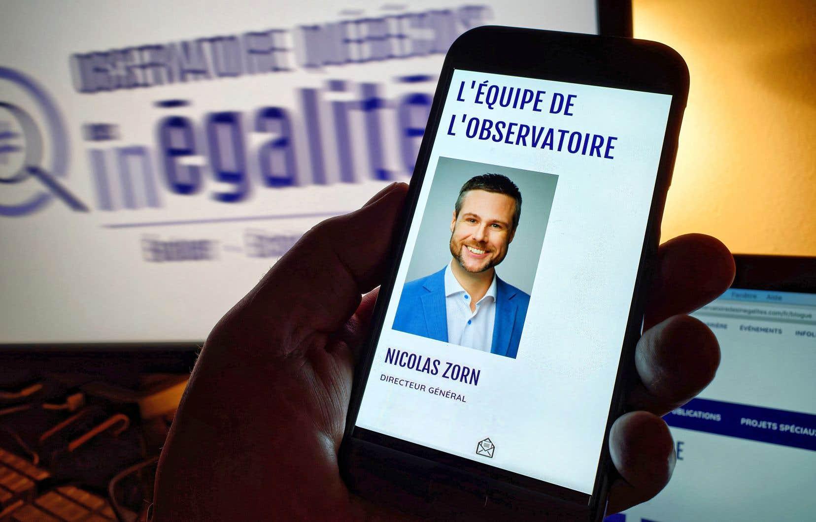 Le directeur général de l'organisme, Nicolas Zorn, a étévisé par des allégations de climat toxique de travail et de harcèlement psychologique rapportées dans «Le Devoir».