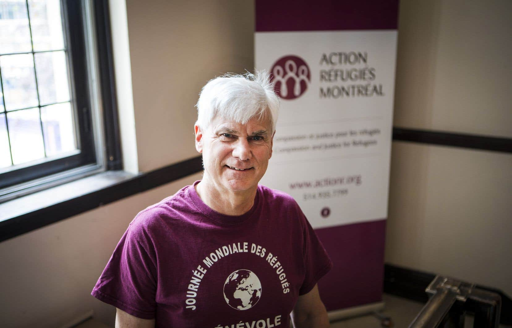 Le directeurgénéral sortant d'Action réfugiés Montréal, Paul Clarke, dénonce les longs délais d'une enquête du ministère de l'Immigration.