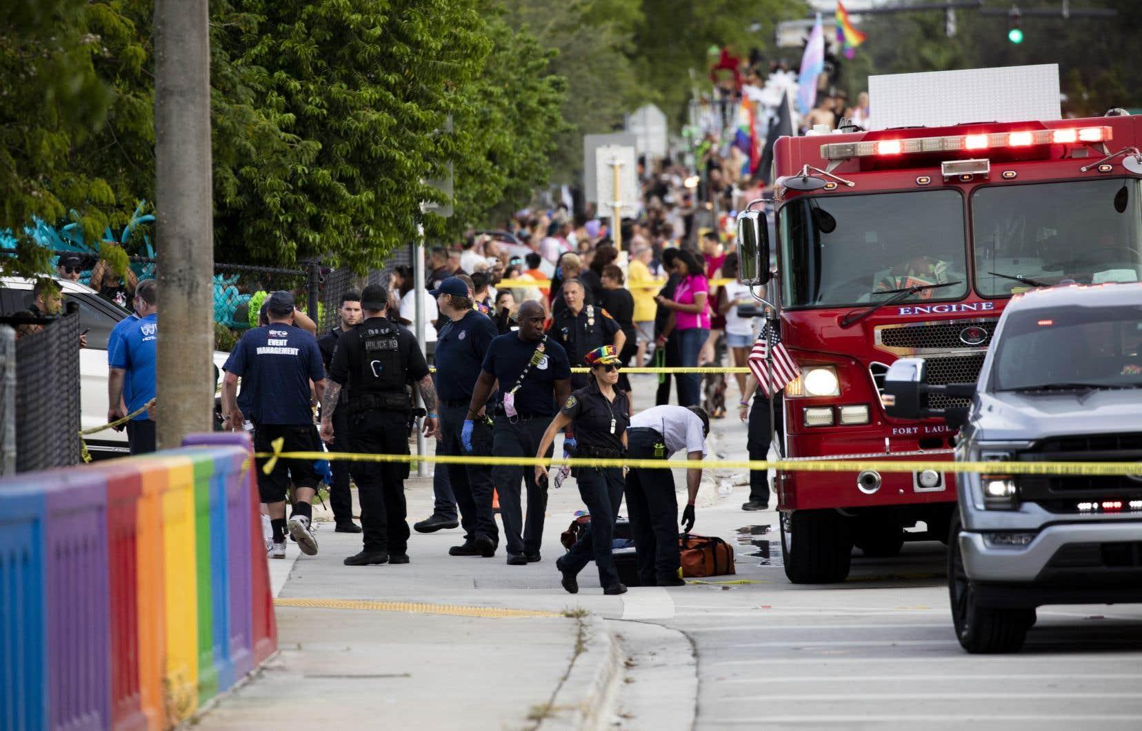 Le conducteur a heurté involontairement des personnes rassemblées pour le défilé, un accident qui avait d'abord été pris pour une manoeuvre intentionnelle.