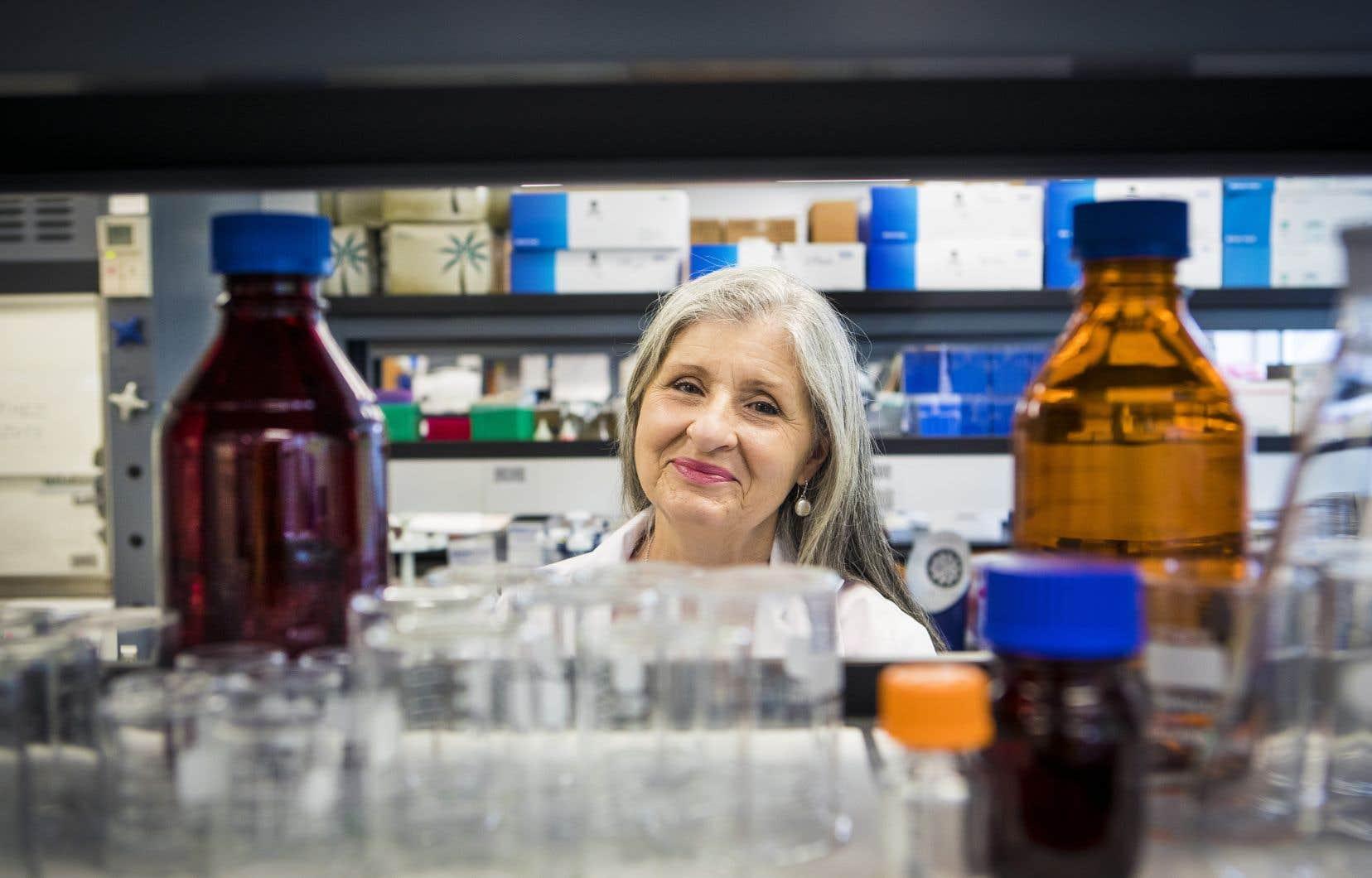 Christiane Ayotte, qui a fait l'objet d'une biographie publiée la semaine dernière, est à la tête du seul laboratoire accrédité par l'Agence mondiale antidopage au Canada.