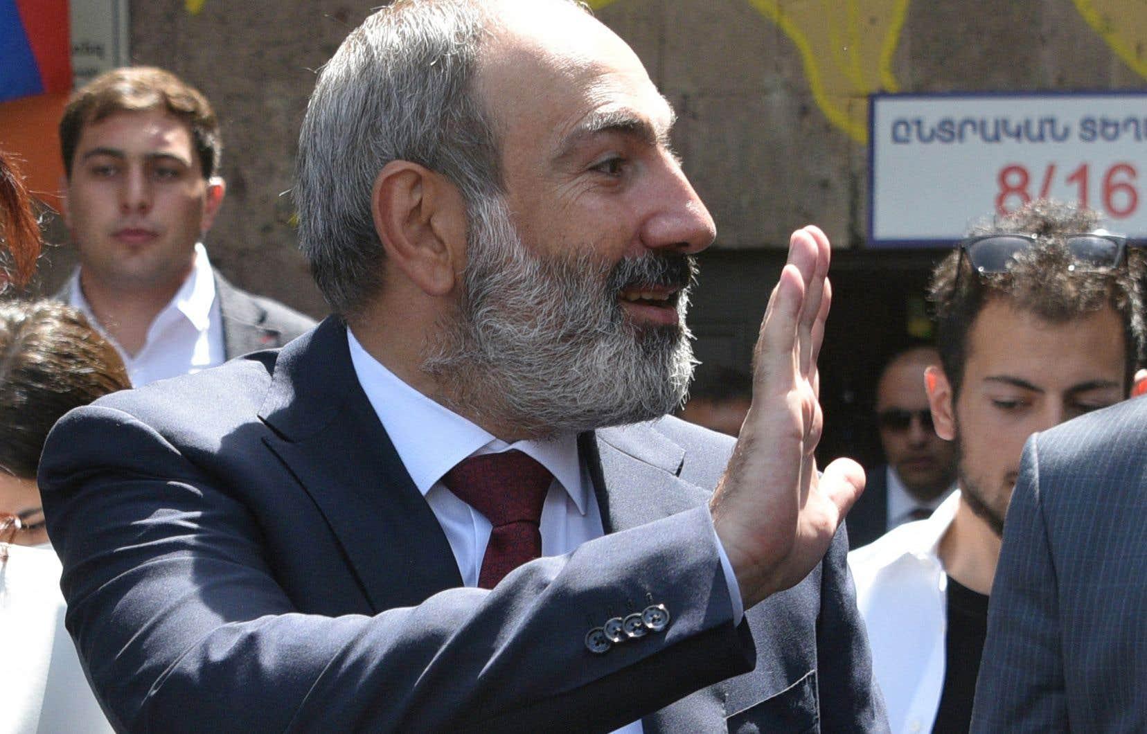 Le premier ministre arménien, Nikol Pachinian