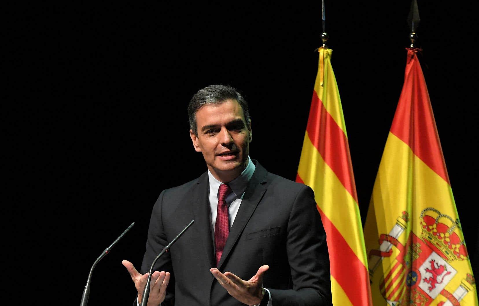 Le premier ministre espagnol, Pedro Sánchez, a annoncé lundi que les neuf indépendantistes catalans condamnés à la prison pour la tentative de sécession de 2017 seront graciés.