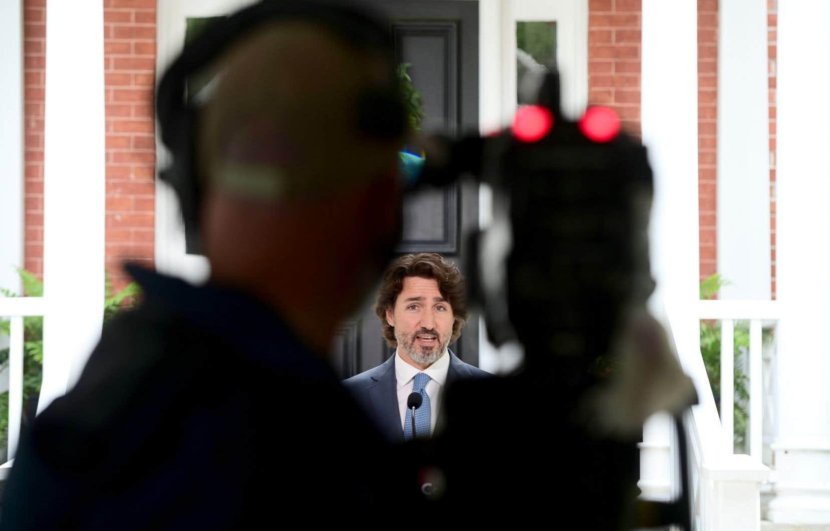 Le discours de Justin Trudeau mardi laissait peu de doutes sur le fait qu'il se prépare à possiblement briguer un nouveau mandat cet automne.