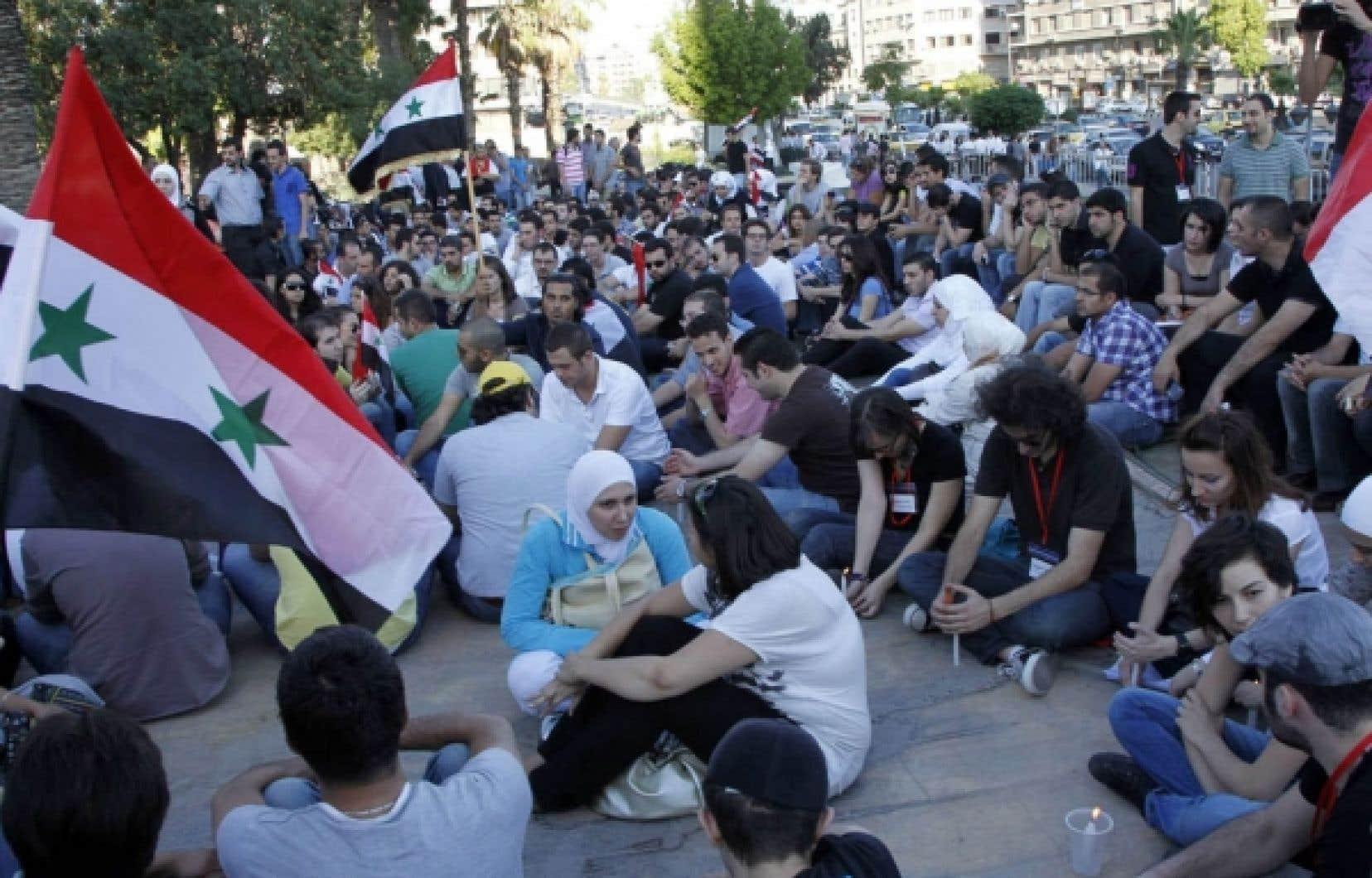 Le régime syrien fait face à un important mouvement de contestation depuis trois mois.<br />
