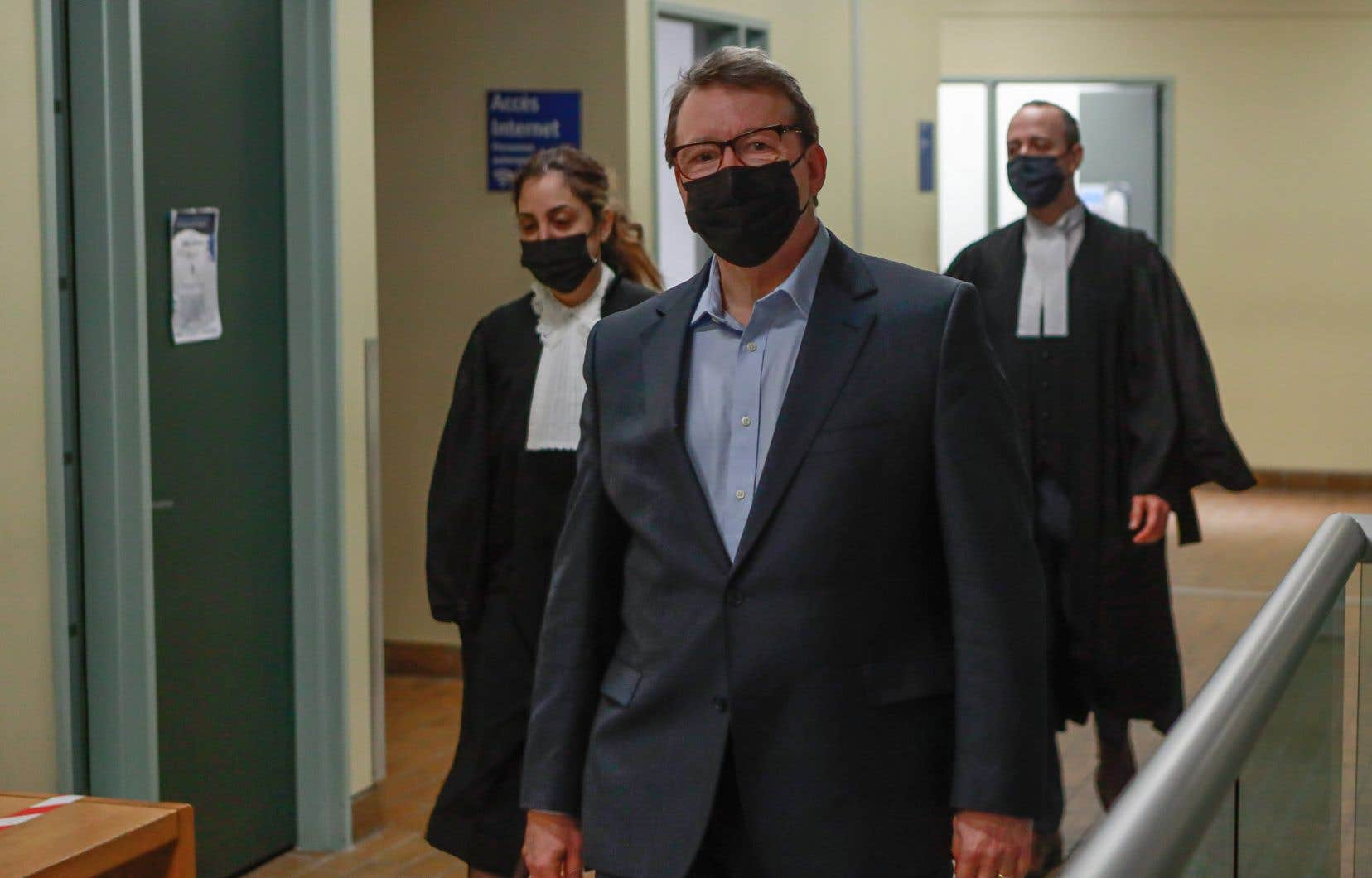 «Le tribunal ne croit pas l'accusé», Michel Venne (sur la photo), a déclaré le juge Stéphane Poulin.