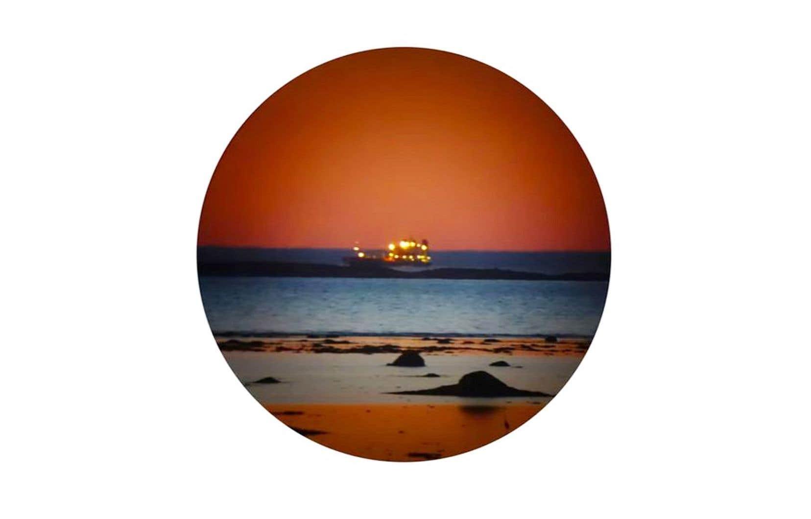 Baptiste Grison, du corpus «Les grands bateaux attendent» (détails), 2017
