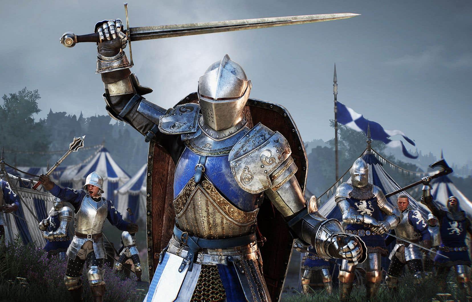 «Chivalry 2» nous transporte dans des champs de bataille médiévaux fictifs, mais surtout épiques.