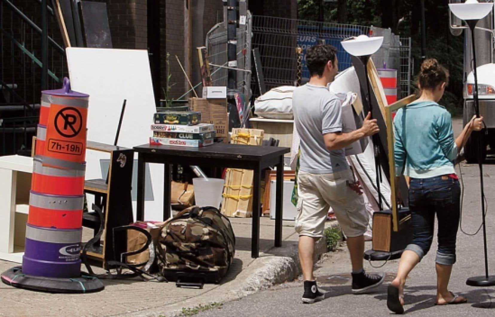 C'est à Montréal que se trouvait le plus grand nombre de ménages sans logement, soit 17.<br />