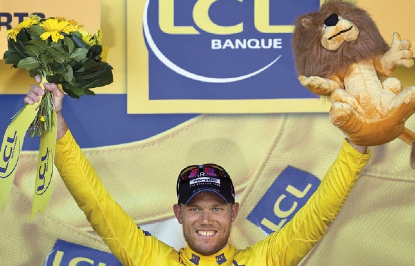 Le Norvégien Thor Hushovd a mis la main hier sur le très convoité maillot jaune du Tour de France.<br />