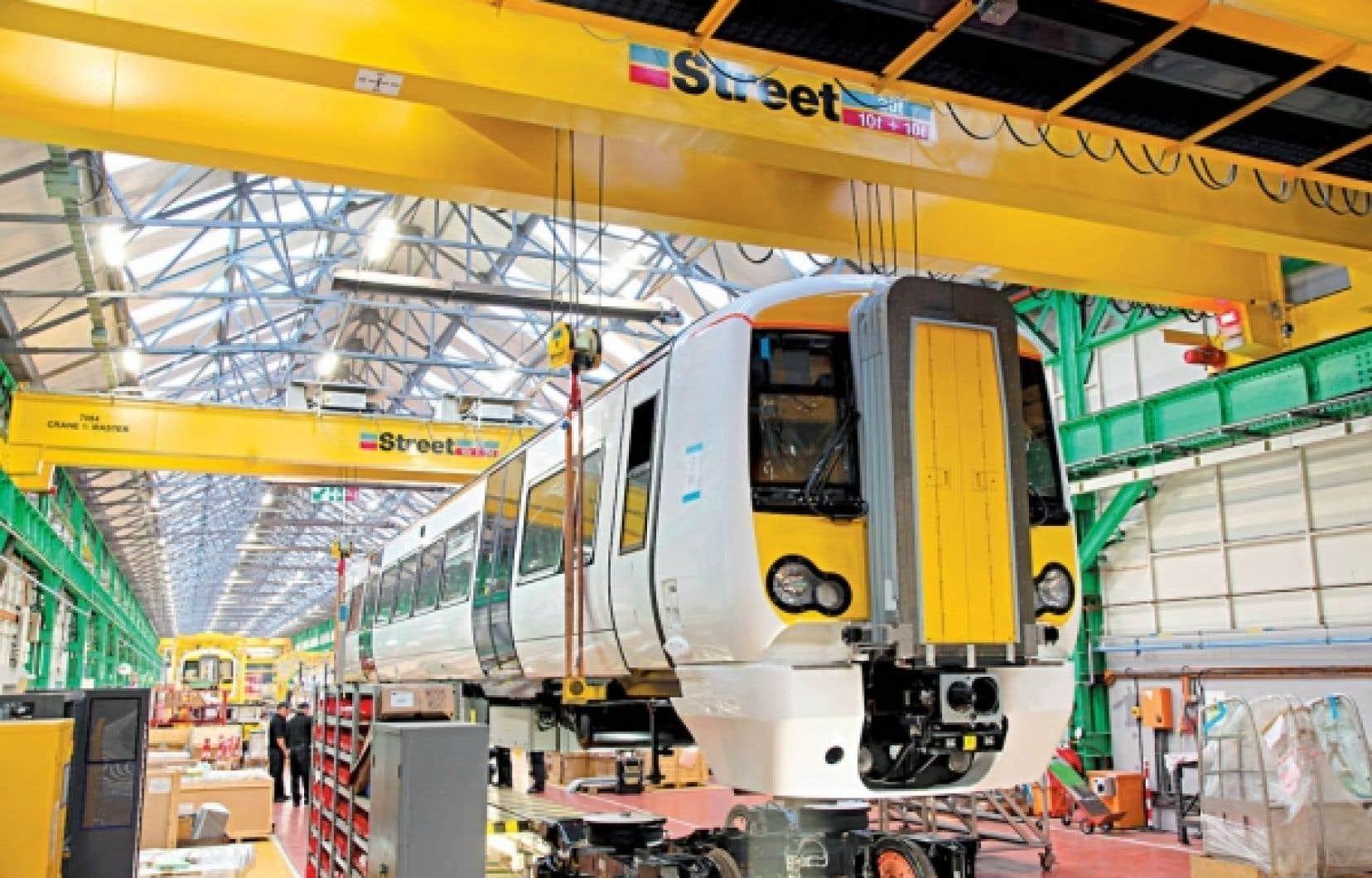 Quatre des cinq contrats confiés à l'usine de Derby, au Royaume-Uni, seront terminés en septembre.<br />