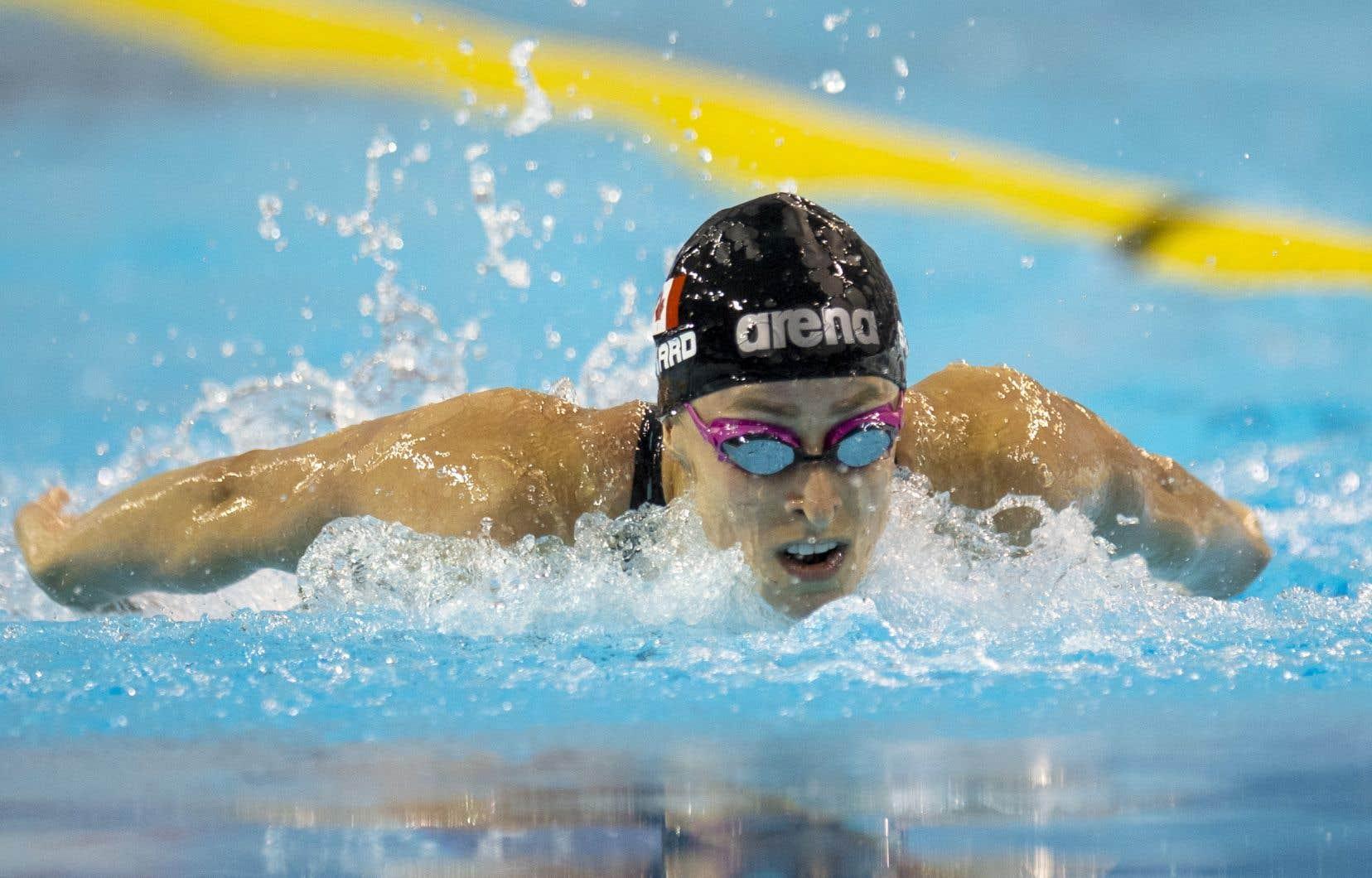 Katerine Savard, une médaillée de bronze au relais 4x200m style libre aux Jeux de Rio de Janeiro en 2016, en sera aux troisièmes JO de sa carrière.