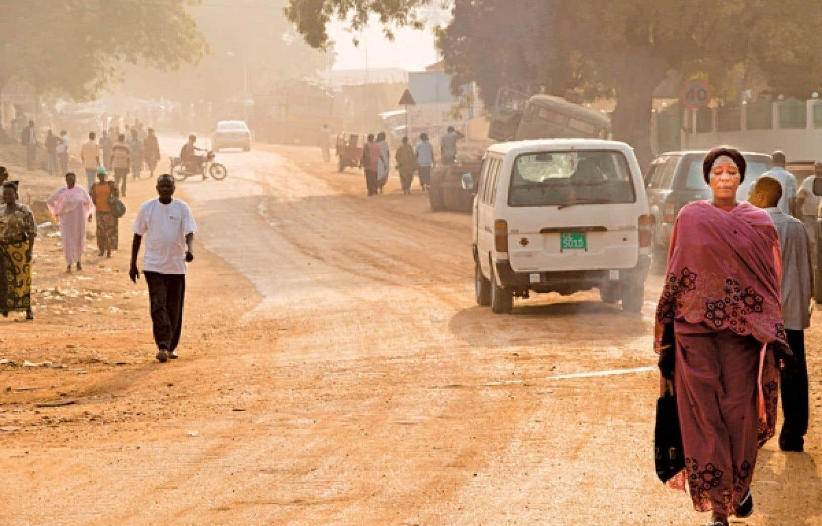 La vie suit son cours à Juba, la capitale du nouveau pays.