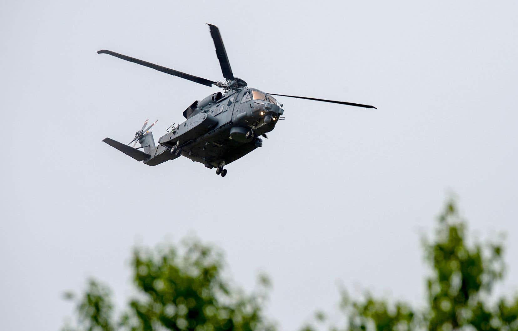 Les CH-148 Cyclone sont généralement déployés à bord de frégates canadiennes et utilisés pour la recherche et le sauvetage, la surveillance et la guerre anti-sous-marine.