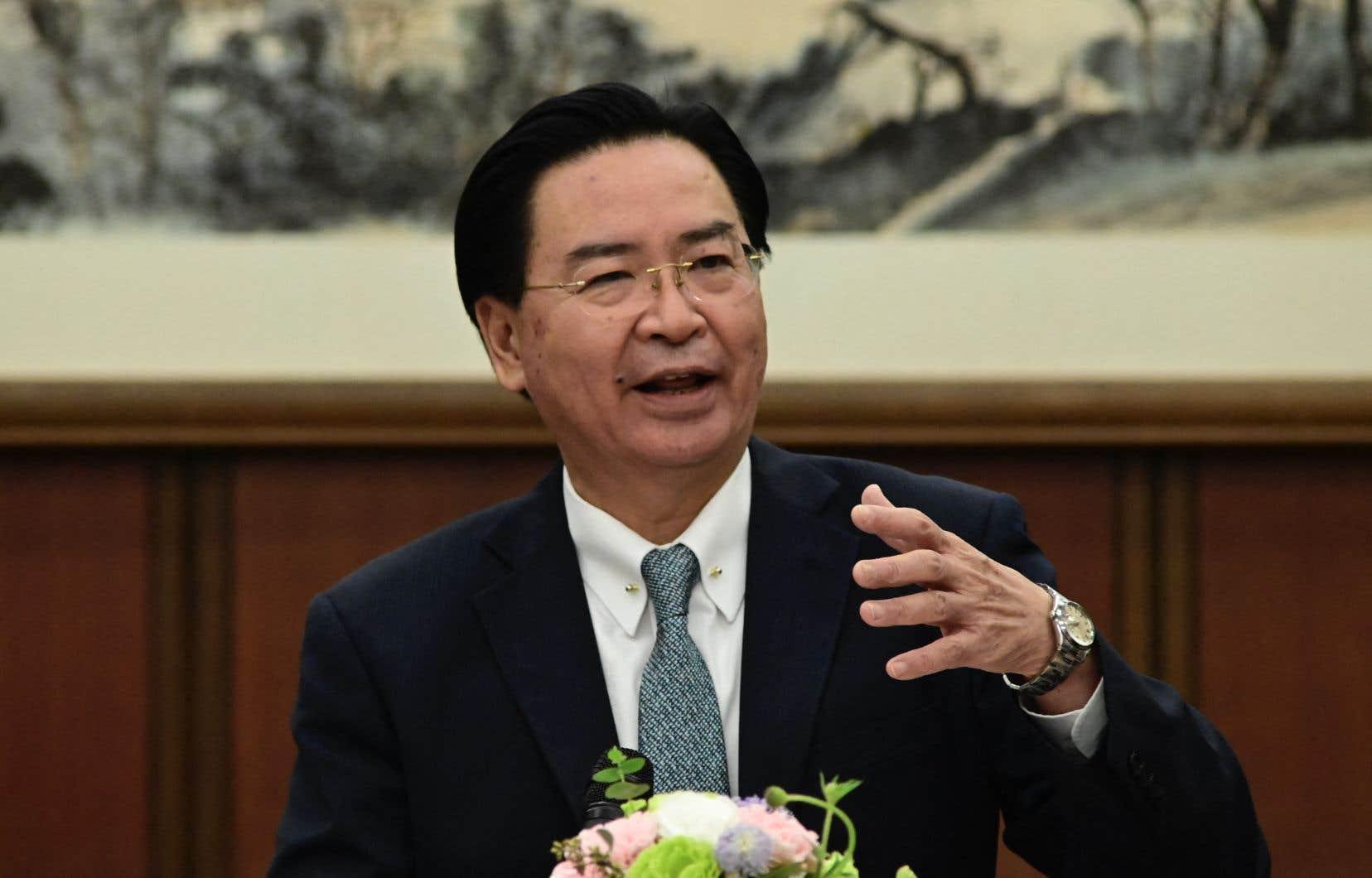 Le ministre taïwanais des Affaires étrangères, Joseph Wu
