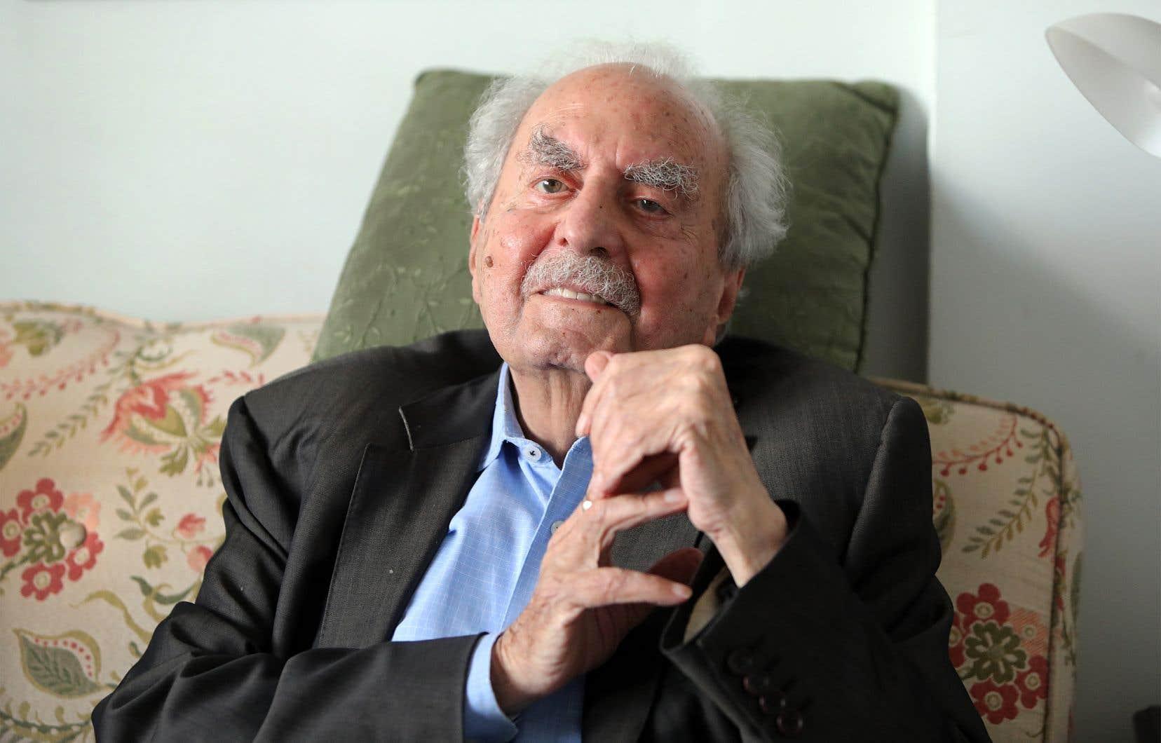 Le romancier, essayiste et animateur culturel Naïm Kattan est décédé à l'âge de 92 ans, à Paris.