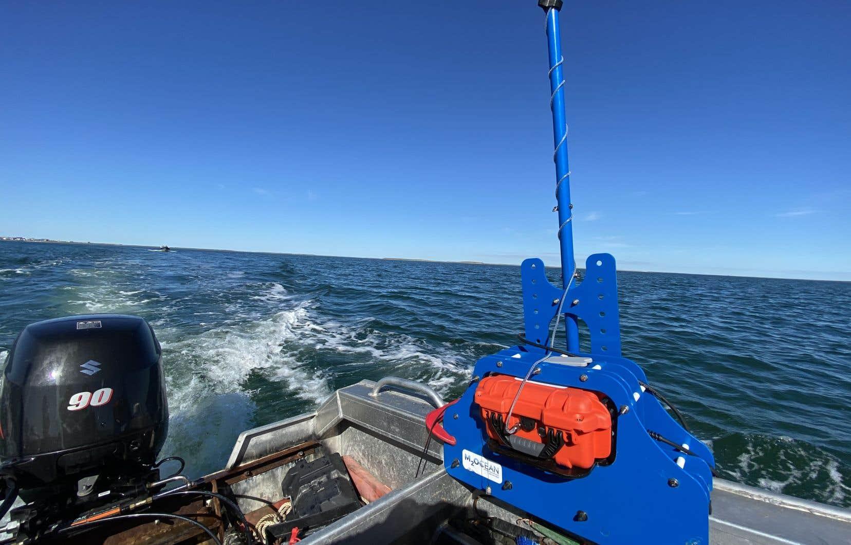 L'entreprise M2Océan, en collaboration avec la communauté autochtone d'Arviat, au Nunavut, a utilisé la technologie HydroBlock pour cartographier une partie des fonds marins de la baie d'Hudson. Leur innovation pourrait être utilisée pour recenser les mouvements du fond marin qui ont eu lieu pendant l'hiver dans le Saint-Laurent.