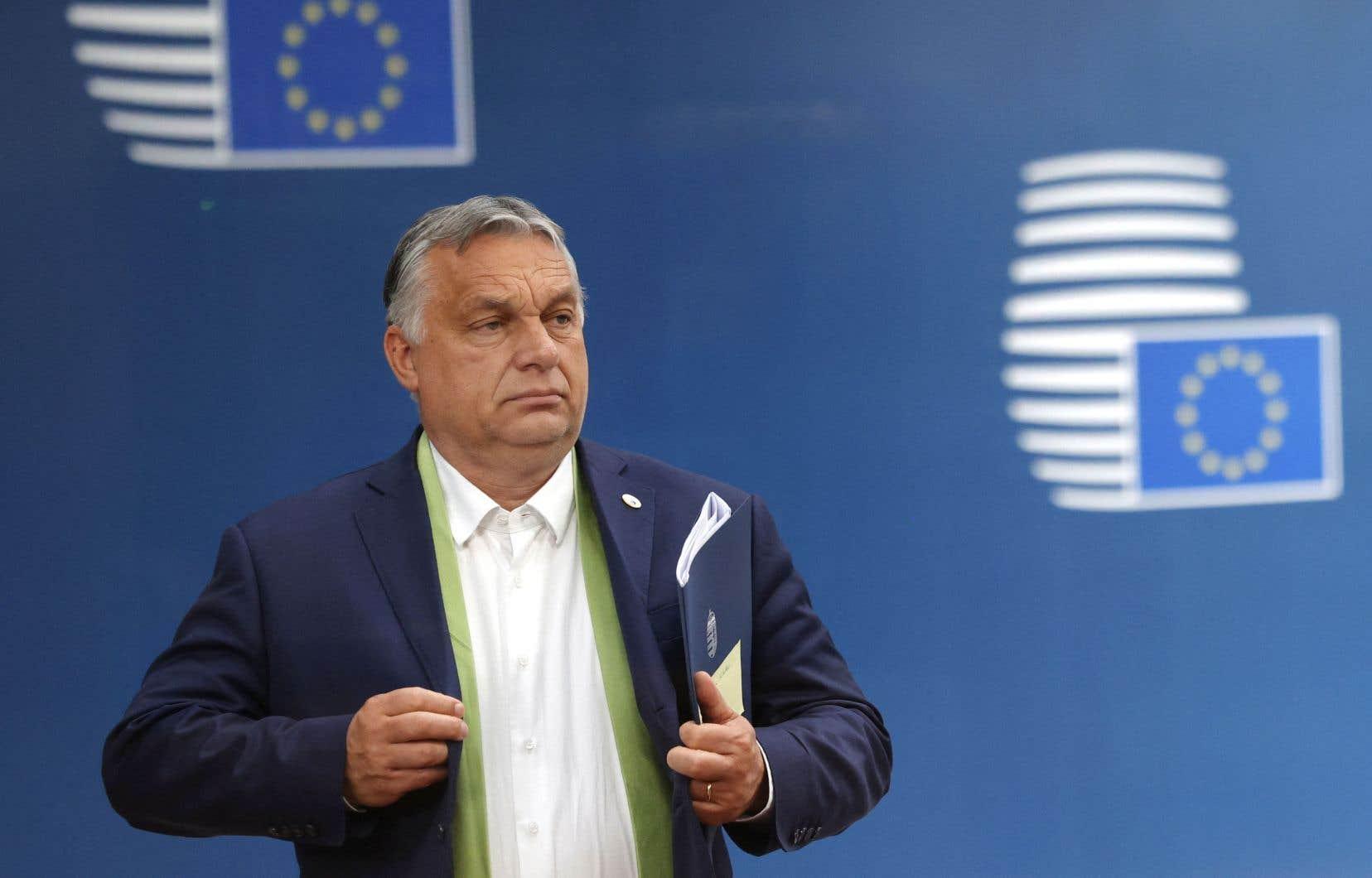 Le premier ministre hongrois, Viktor Orbán