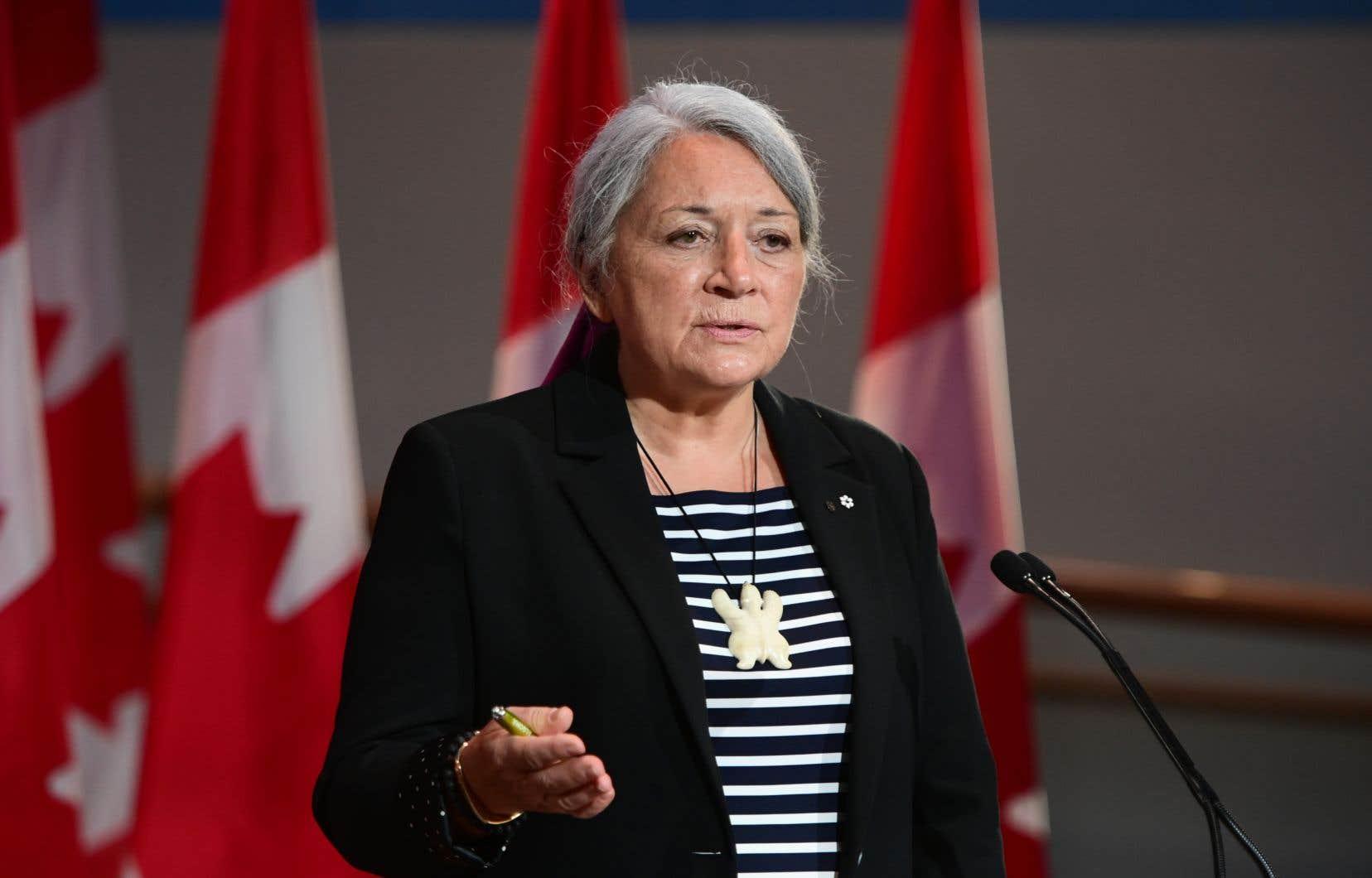 La femme de 73ans vient de Kuujjuaq, au Nunavik, dans le Nord-du-Québec.