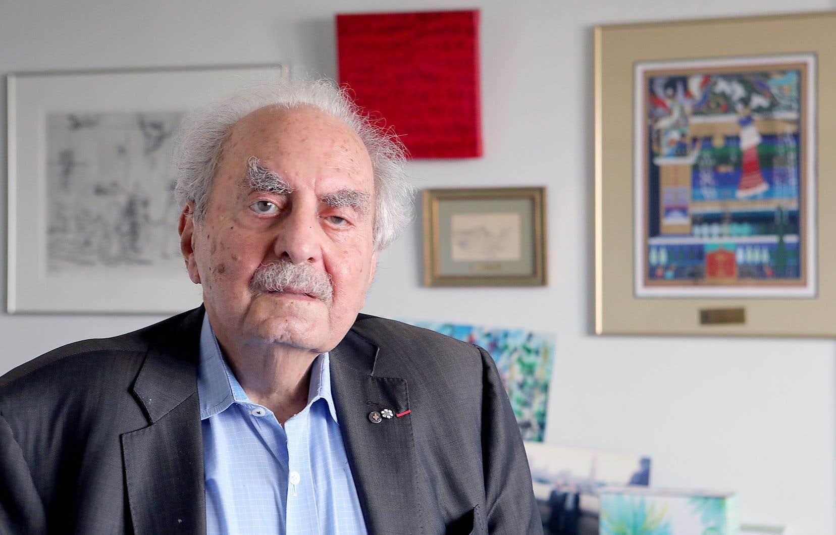 «Naïm Kattan avait traversé les continents et avait su percevoir, à un moment clé de l'histoire, que la société québécoise était promise à des avancées déterminantes», écrit l'auteur.