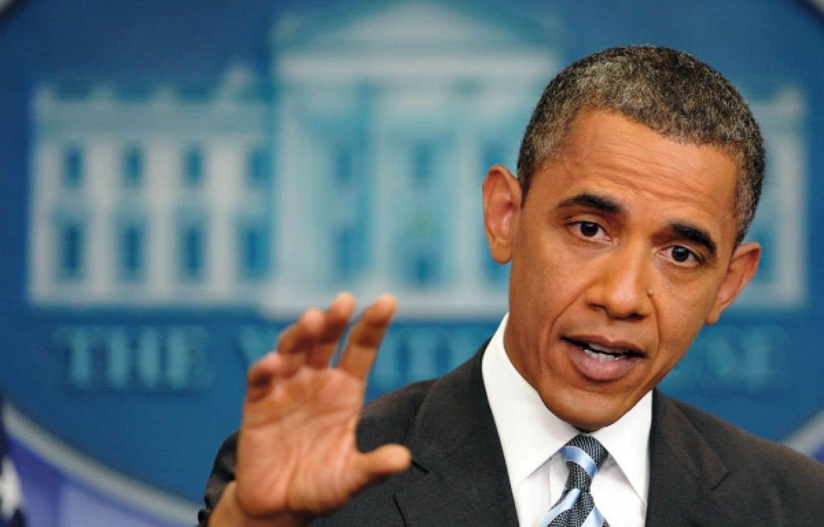 Le président Barack Obama a prévenu, hier, les républicains que le «temps presse» pour relever le plafond de la dette et éviter «la fin du monde» que serait un défaut de paiement des États-Unis, tout en se disant ouvert à une proposition «sérieuse» de ses adversaires.
