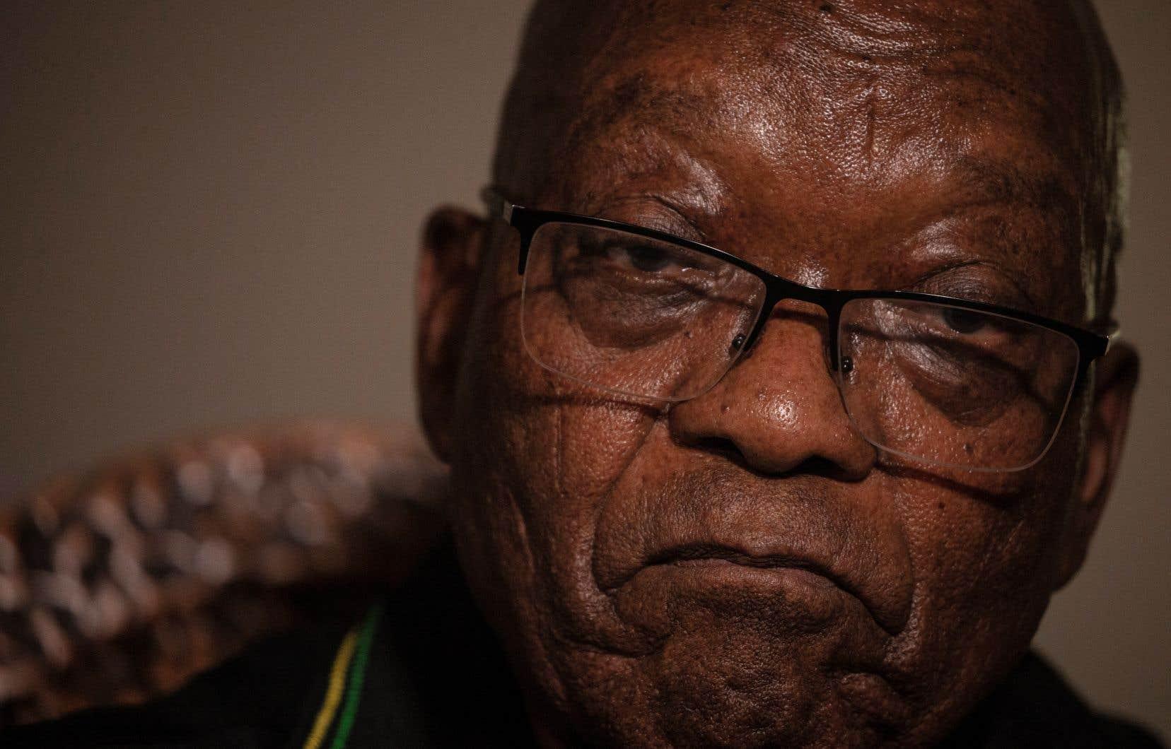 Jacob Zuma a été condamné la semaine dernière par la plus haute juridiction du pays, une décision sans appel.
