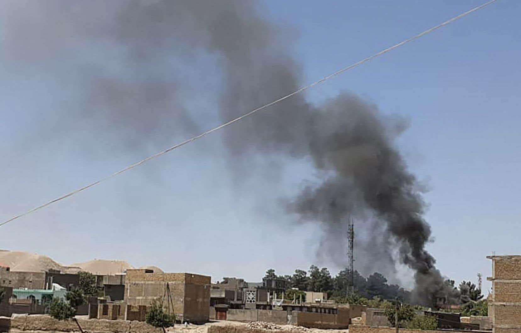 Les talibans ont expulsé des personnes de leur domicile dans le nord de l'Afghanistan, et pillent ou incendient certaines habitations, a dénoncé mercredi l'association de défense des droits de la personne Human Rights Watch.