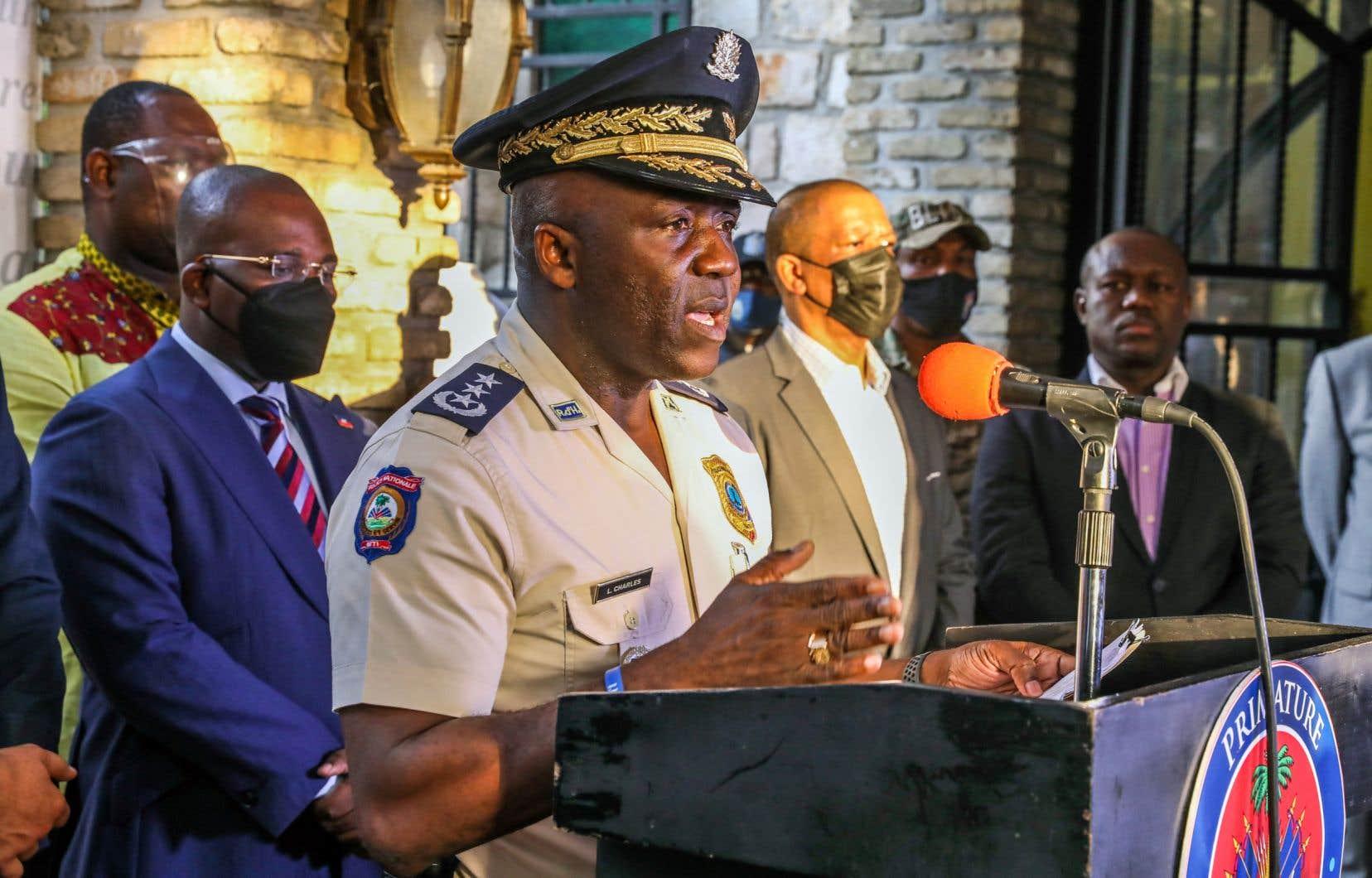 Les Colombiens étaient chargés d'assurer la sécurité de Christian Emmanuel Sanon, mais «la mission a ensuite changé», a indiquéLéon Charles, directeur de la police nationale haïtienne.