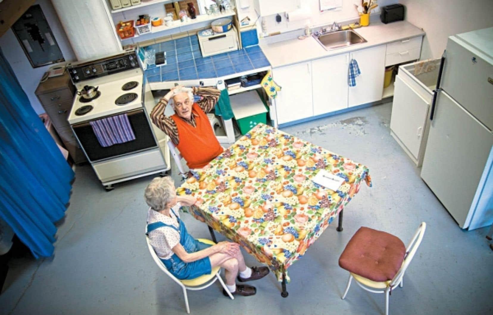 Robert Nolter et sa compagne de dix ans son aînée, Jacqueline Pagé, occupent toujours le loft 340.<br />