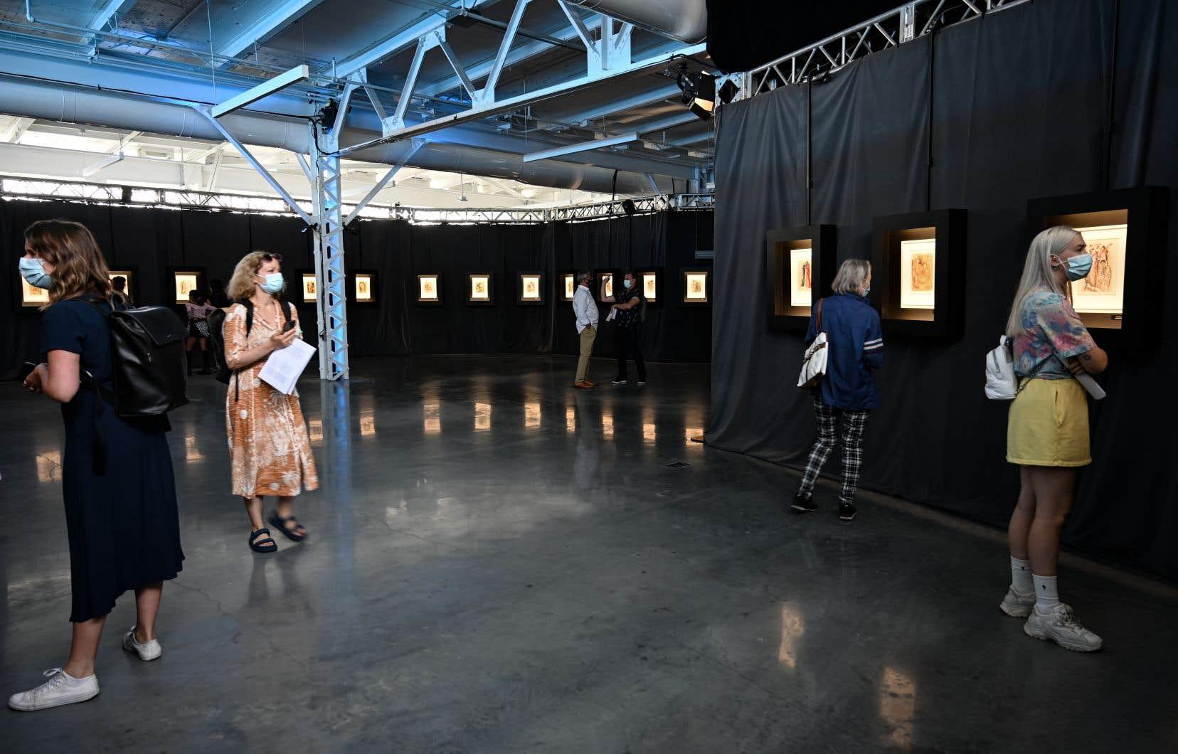 Ce sont ces 100 et une estampes qui forment l'exposition «Divina Dali», qui prend l'affiche au Grand Quai du Port de Montréal.