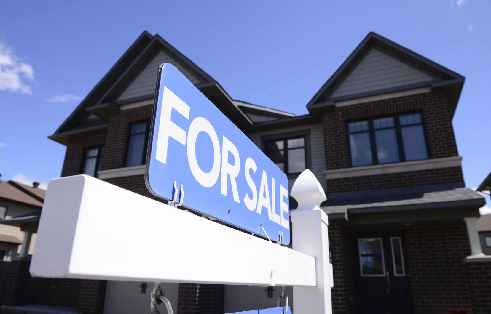 En tout, 73402 maisons étaient inscrites à la vente en juin, un nombre en baisse de 0,7% par rapport à celui de 73912 du mois de mai, a précisé l'ACI.
