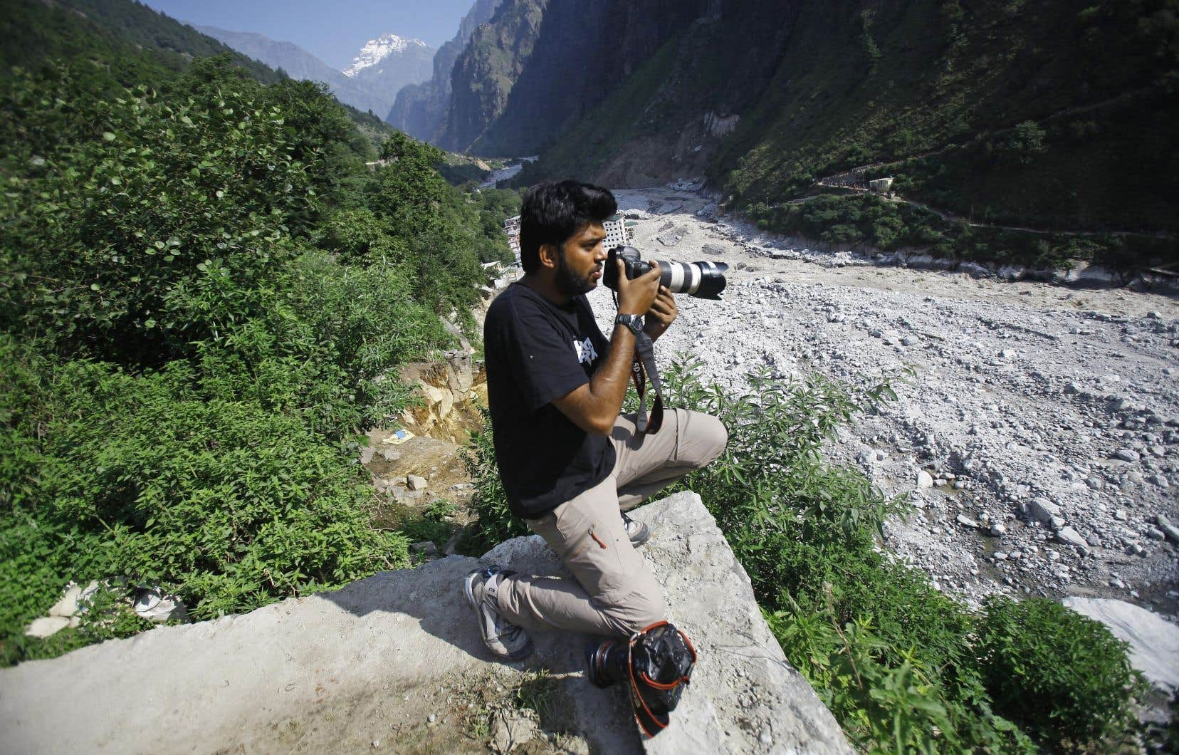 Le photographe de Reuters Danish Siddiqui a été tué par des tirs talibans vendredi près de Kandahar.