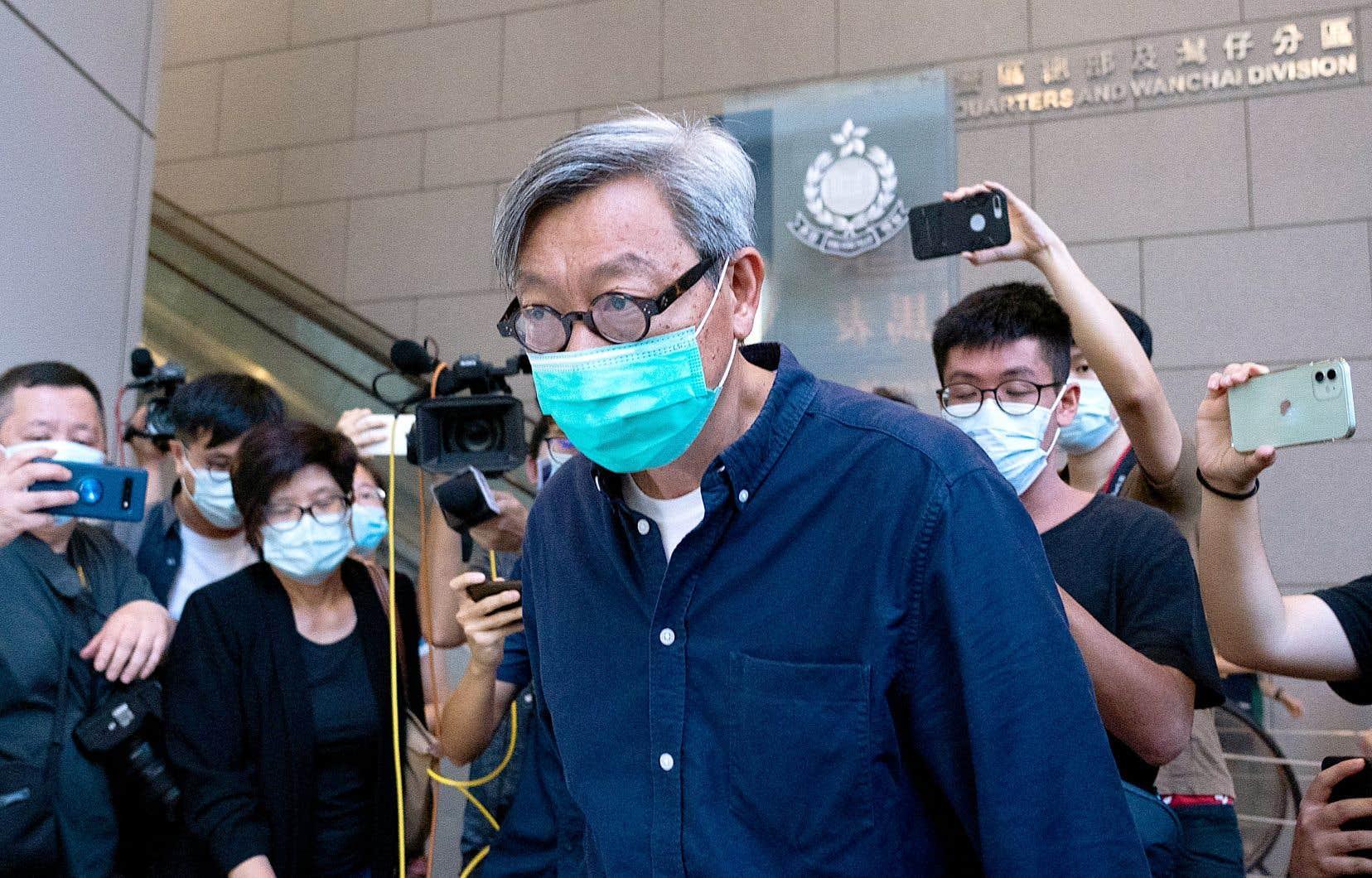 L'éditeur du journal, Fung Wai-kong, avait déjà été interpellé pour «collusion avec des forces étrangères».