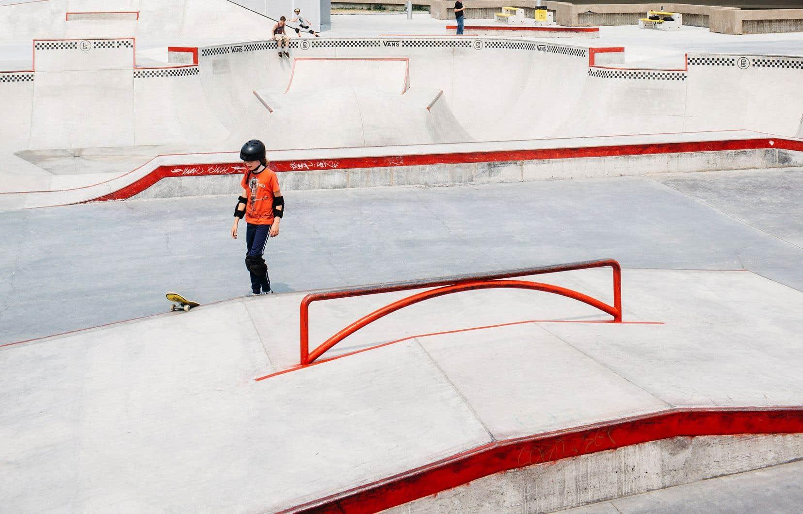En juin 2021, une nouvelle section du planchodrome de l'esplanade du Parc olympique a été dévoilée.