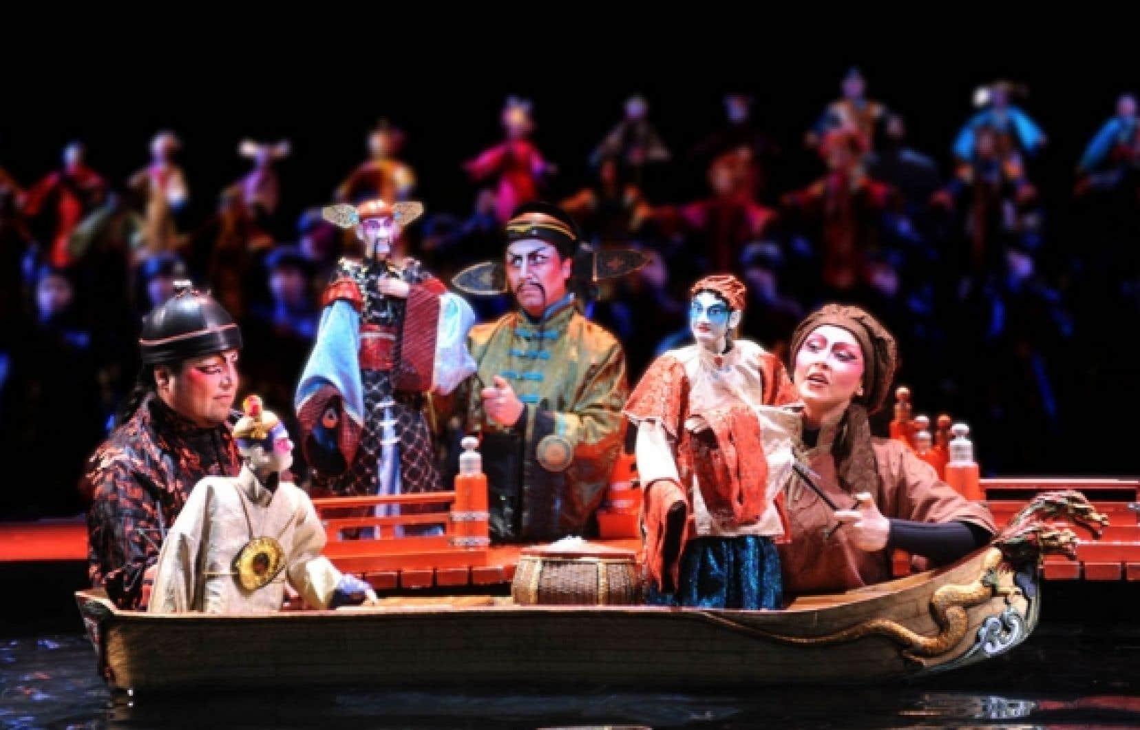 Le Rossignol et autres fables, un spectacle de Robert Lepage d'après Stravinski