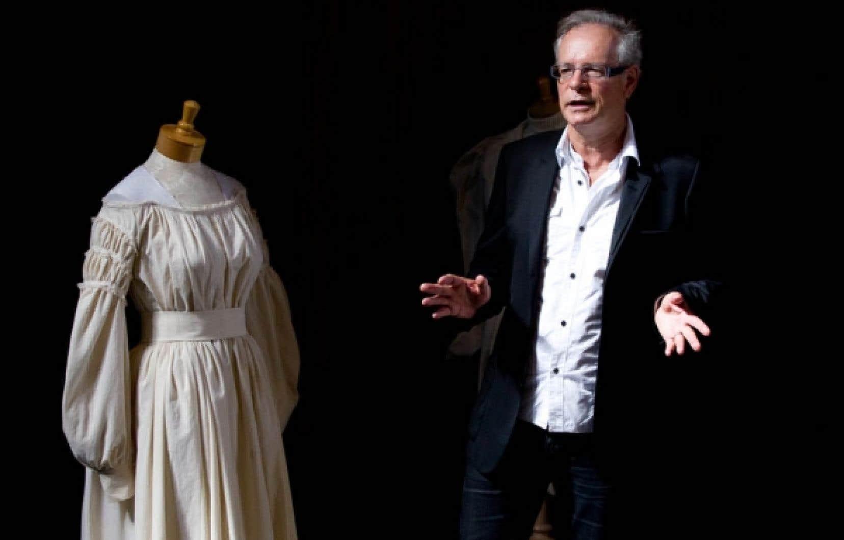 Simon Brault vit au rythme de l'École nationale de théâtre depuis 1981.