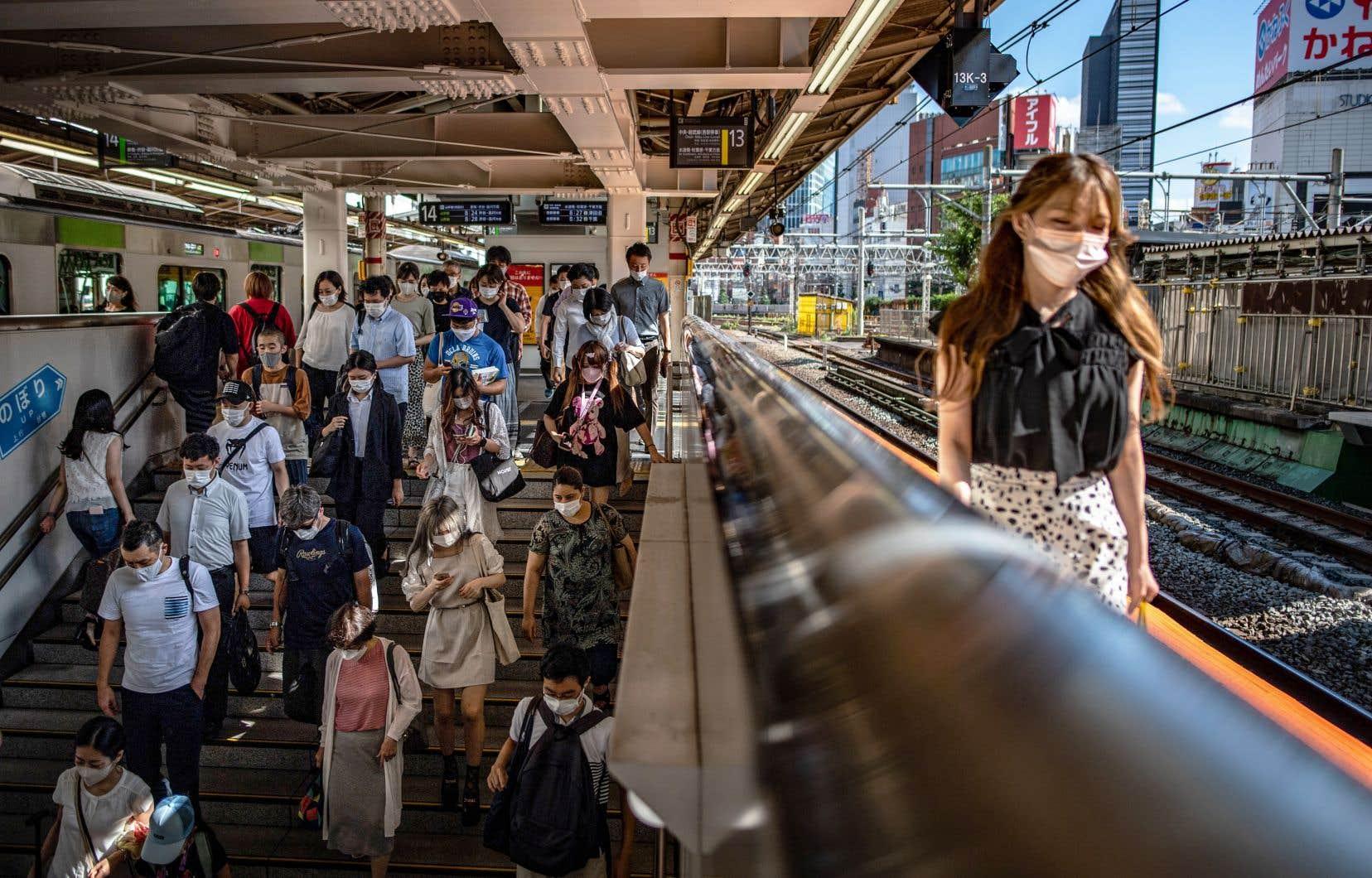 Il est assez facile, à Tokyo, d'oublier que des Jeux sont sur le point de battre leur plein.