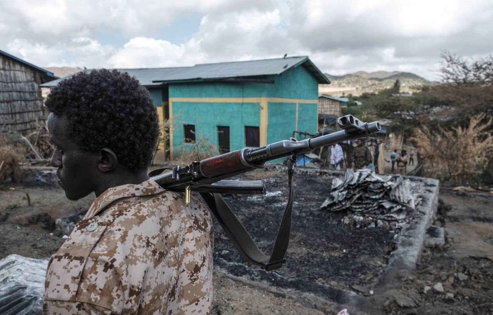 Le premier ministre éthiopien a proclamé la victoire fin novembre après la prise de la capitale régionale Mekele. Mais les combats ont continué, et récemment tourné en défaveur d'Addis Abeba.