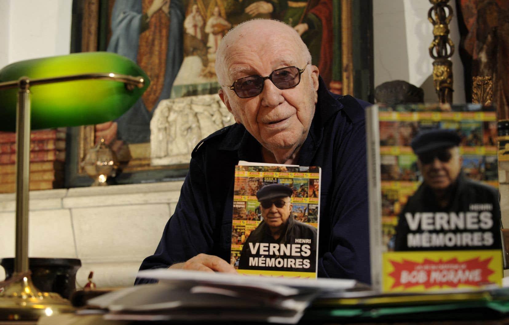 Doté d'une imagination fertile, Henri Vernes a gardé, sa vie durant, la passion de l'écriture et des plaisirs de la vie, avec une malice et une énergie faisant oublier son grand âge.