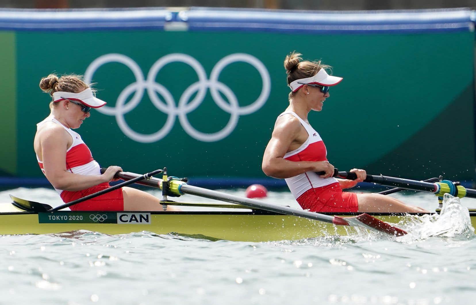 Grâce à un chrono de six minutes et 52,10 secondes, Caileigh Filmer et Hillary Janssens ont offert au Canada sa cinquième médaille de bronze à Tokyo.