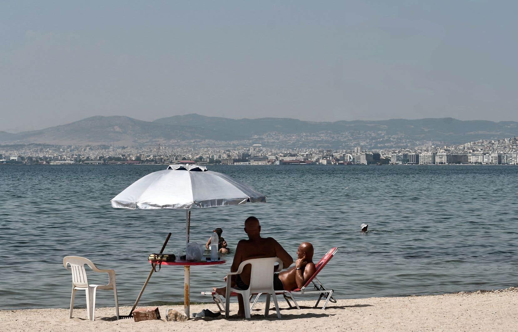 Le mercure a surpassé les 40℃ dans plusieurs régions, notamment en Grèce.
