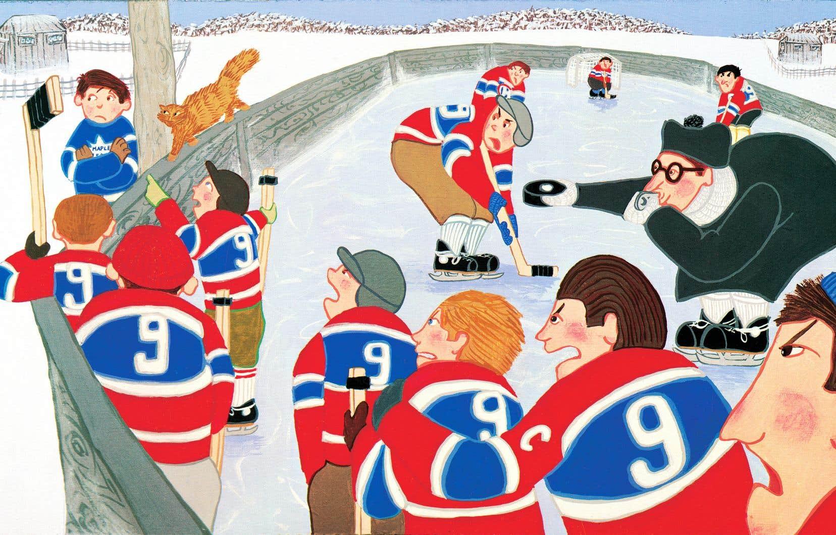 En 1984, Tundra Books publie la nouvelle de Roch Carrier, accompagnée des illustrations colorées de Sheldon Cohen, sous le titre «Le chandail de hockey». C'est cette version qui s'est vendue à plus de 300000 exemplaires, dans les deux langues, et qui a fait entrer pour de bon les mots de Carrier dans l'imaginaire collectif québécois et canadien.
